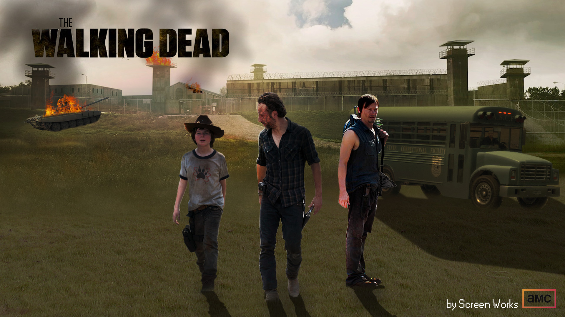the walking dead season 5 wallpapers (68+ background pictures)