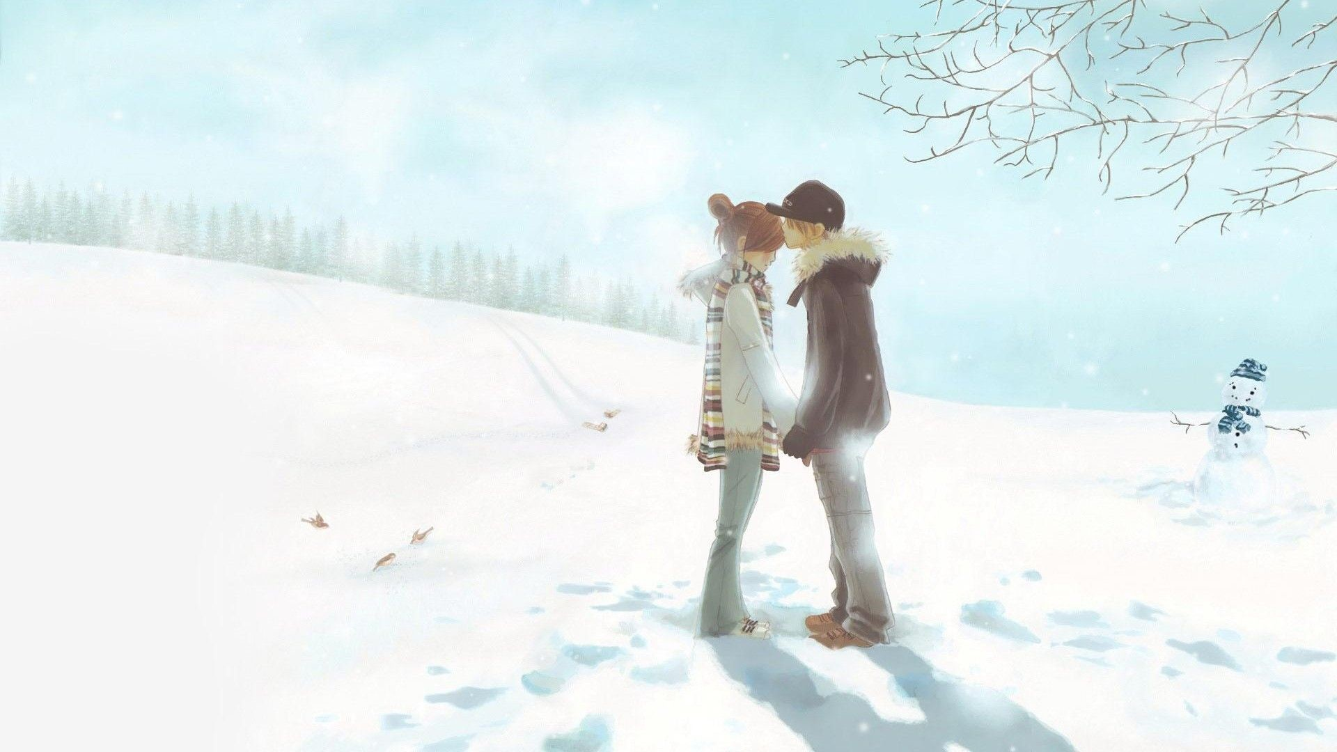 1920x1080 Cute Anime Couples Wallpaper Lovely Hd Couple Backgrounds