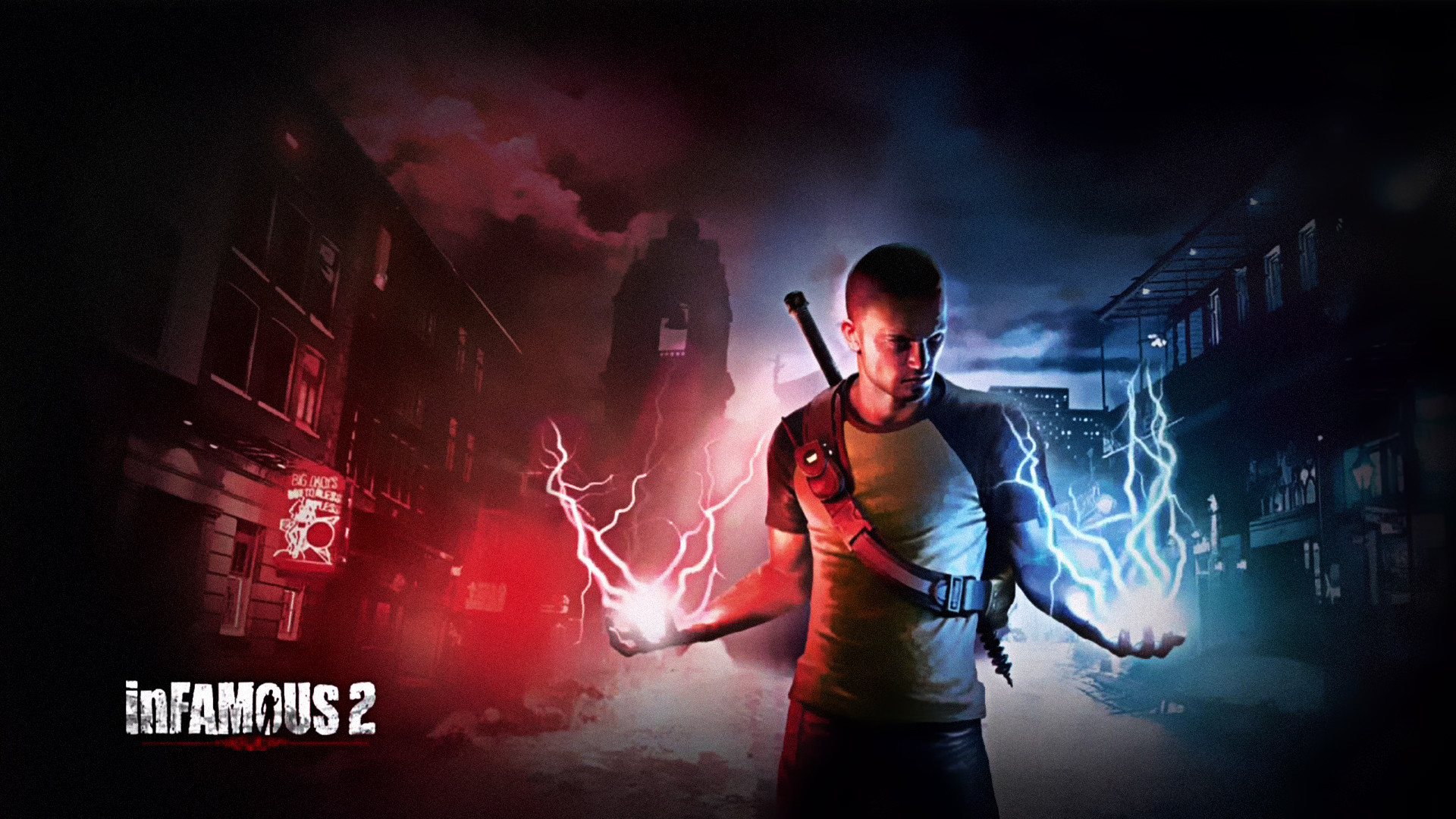 1920x1080 Video Game - inFAMOUS 2 Wallpaper