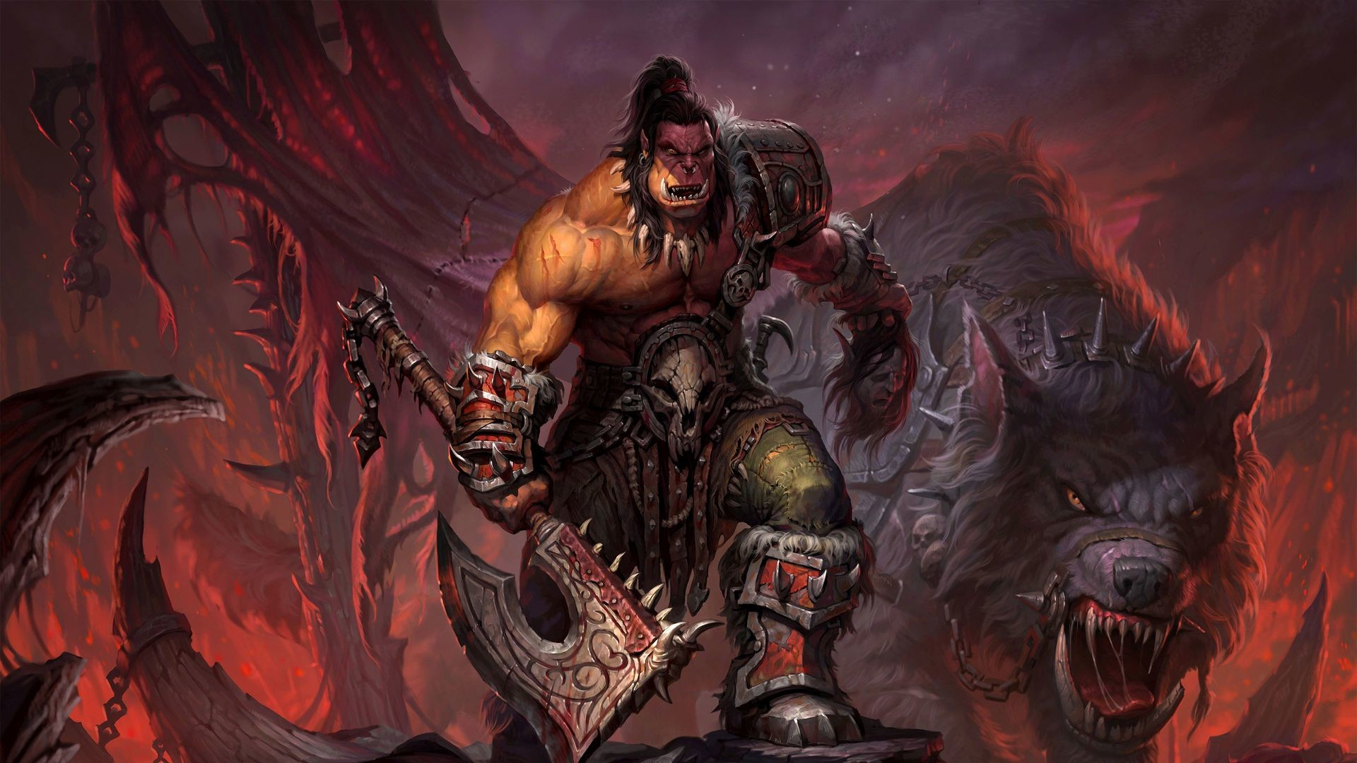 World Of Warcraft Backgrounds 1920x1080: World Of Warcraft Wallpapers HD (86+ Background Pictures