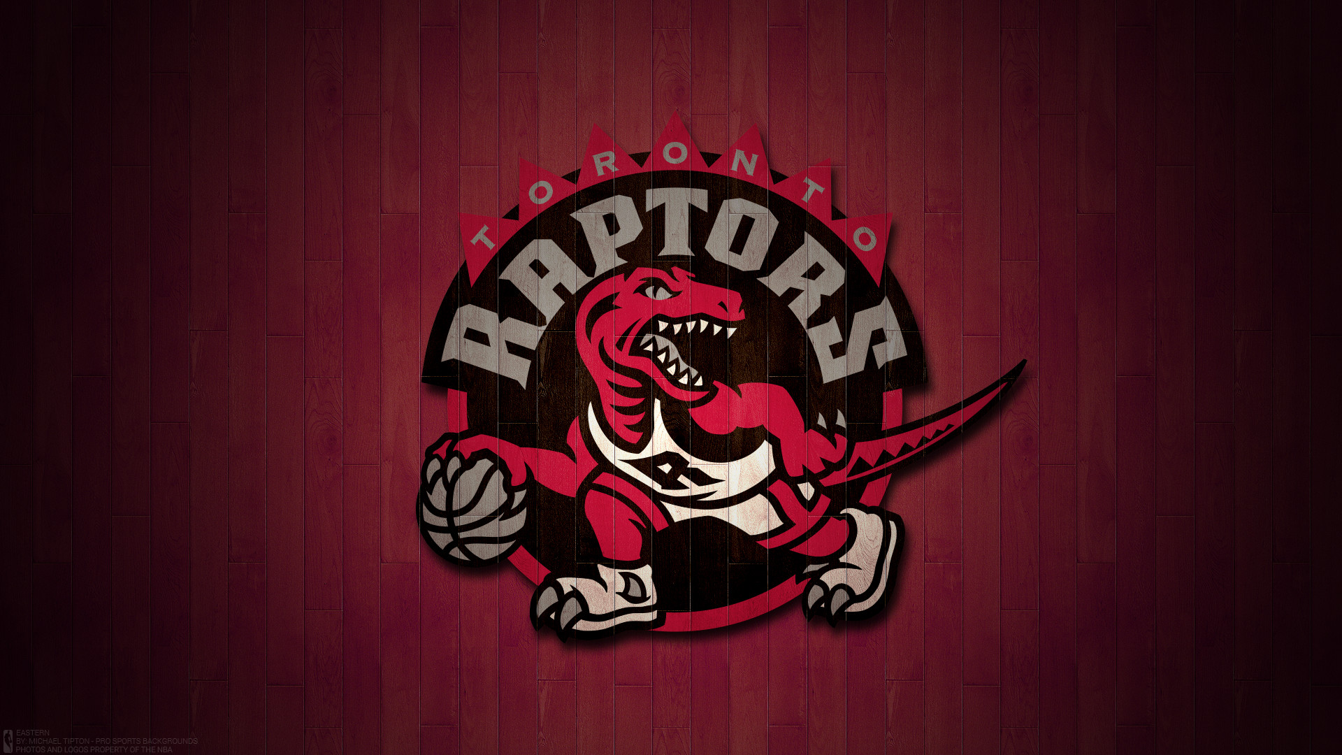 1920x1080 Toronto Raptors 2017 Nba Basketball Team Logo Hardwood Wallpaper Free For Mac And Desktop Pc