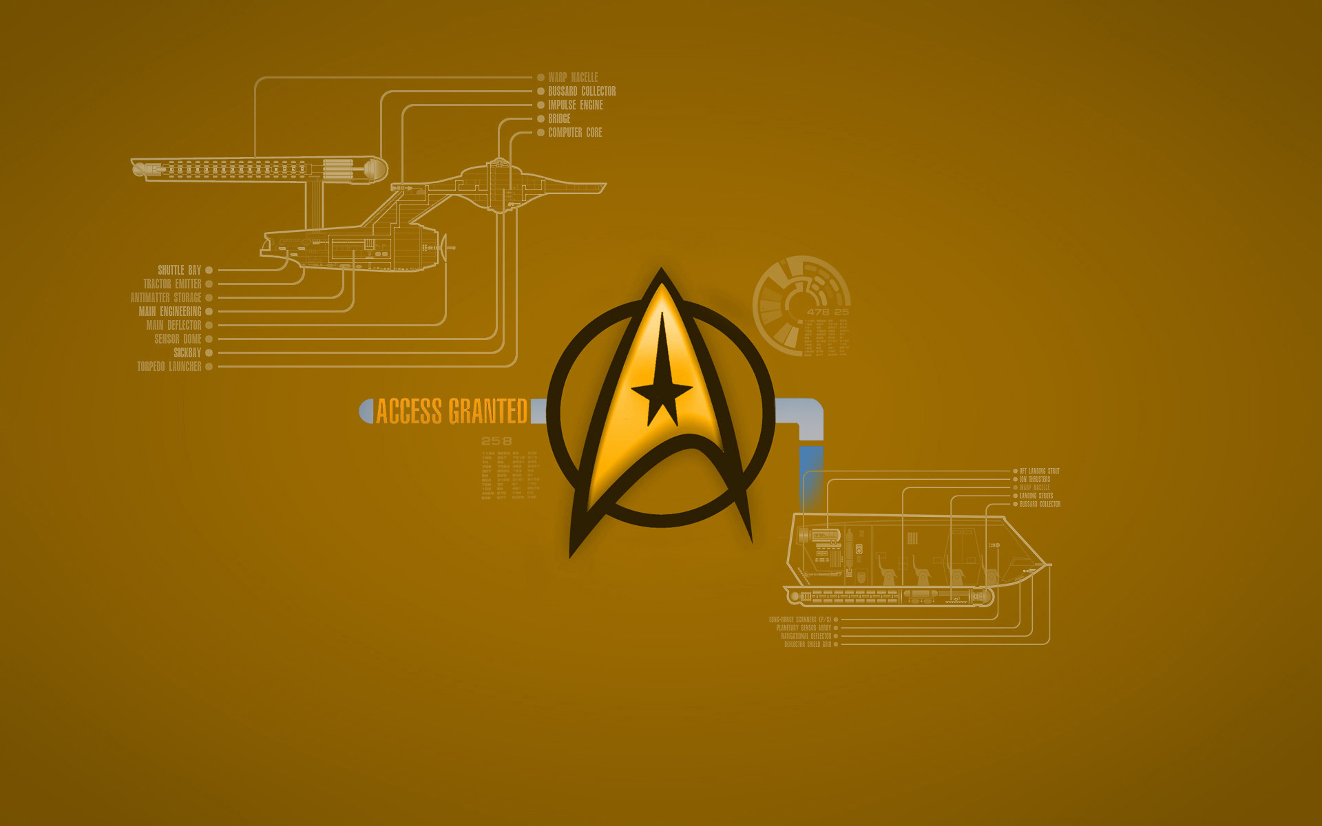 1920x1080 United Federation Of Planets Logo HD Wallpaper | 1920x1080 | ID:42846