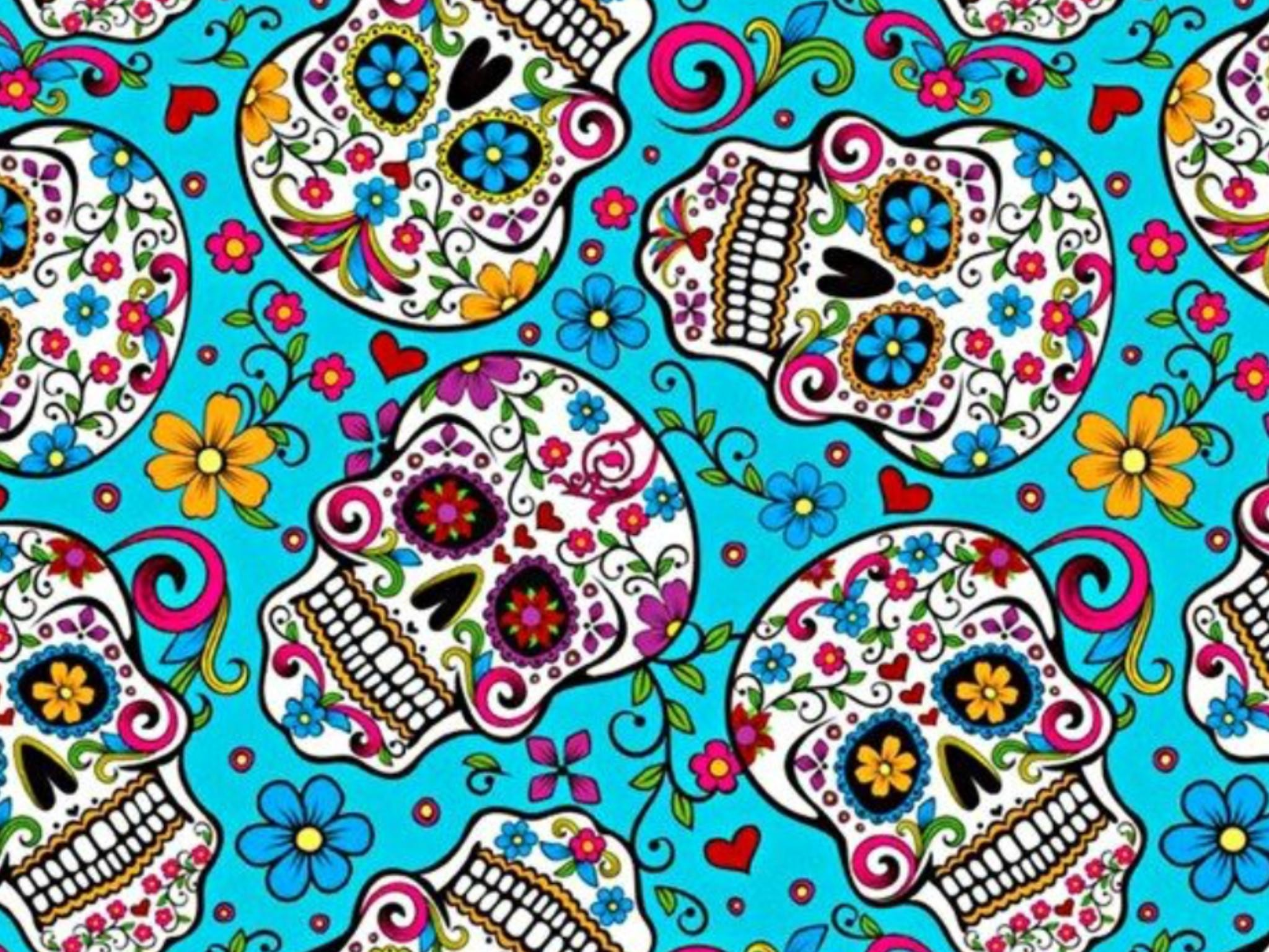 Sugar Skull Wallpapers (65+ background pictures)