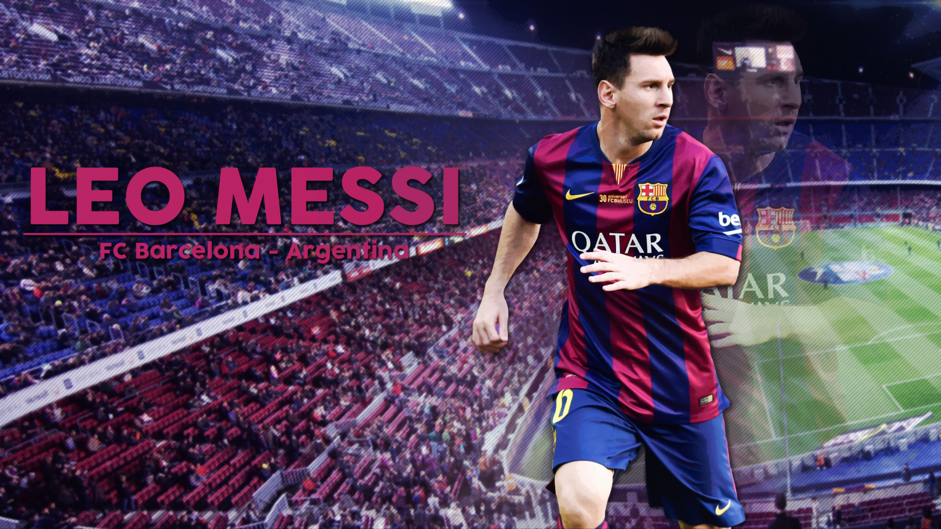 1920x1280 Lionel Messi 2014 World Cup Wallpaper