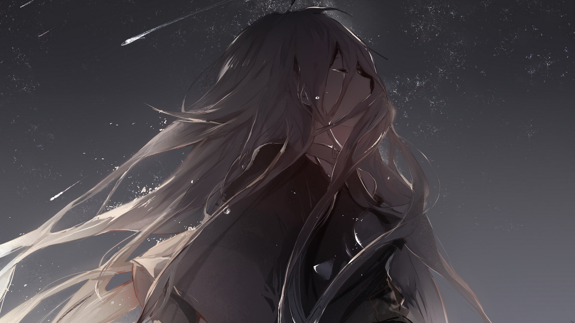 Sad Anime Wallpapers 82 Background Pictures