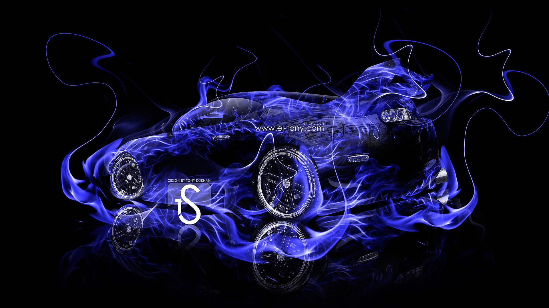 Cool Blue Fire Wallpapers 65 Background Pictures