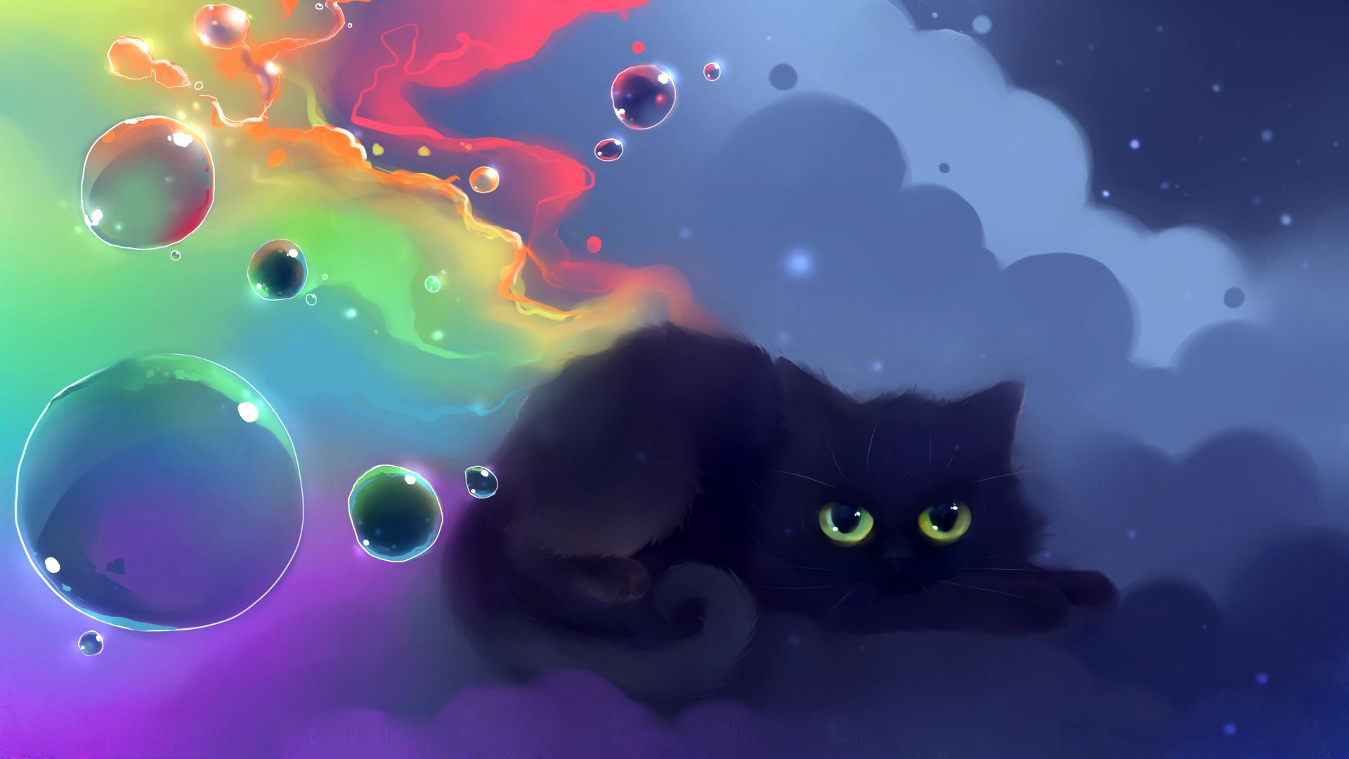 Wallpapers Black Cat 69 Background Pictures