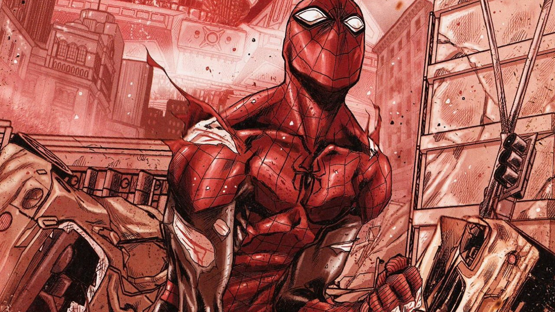 1920x1080 Superior Spider Man Wallpapers
