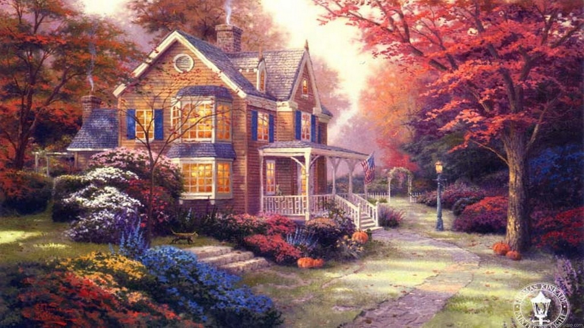 Thomas Kinkade Wallpapers 77 Background Pictures