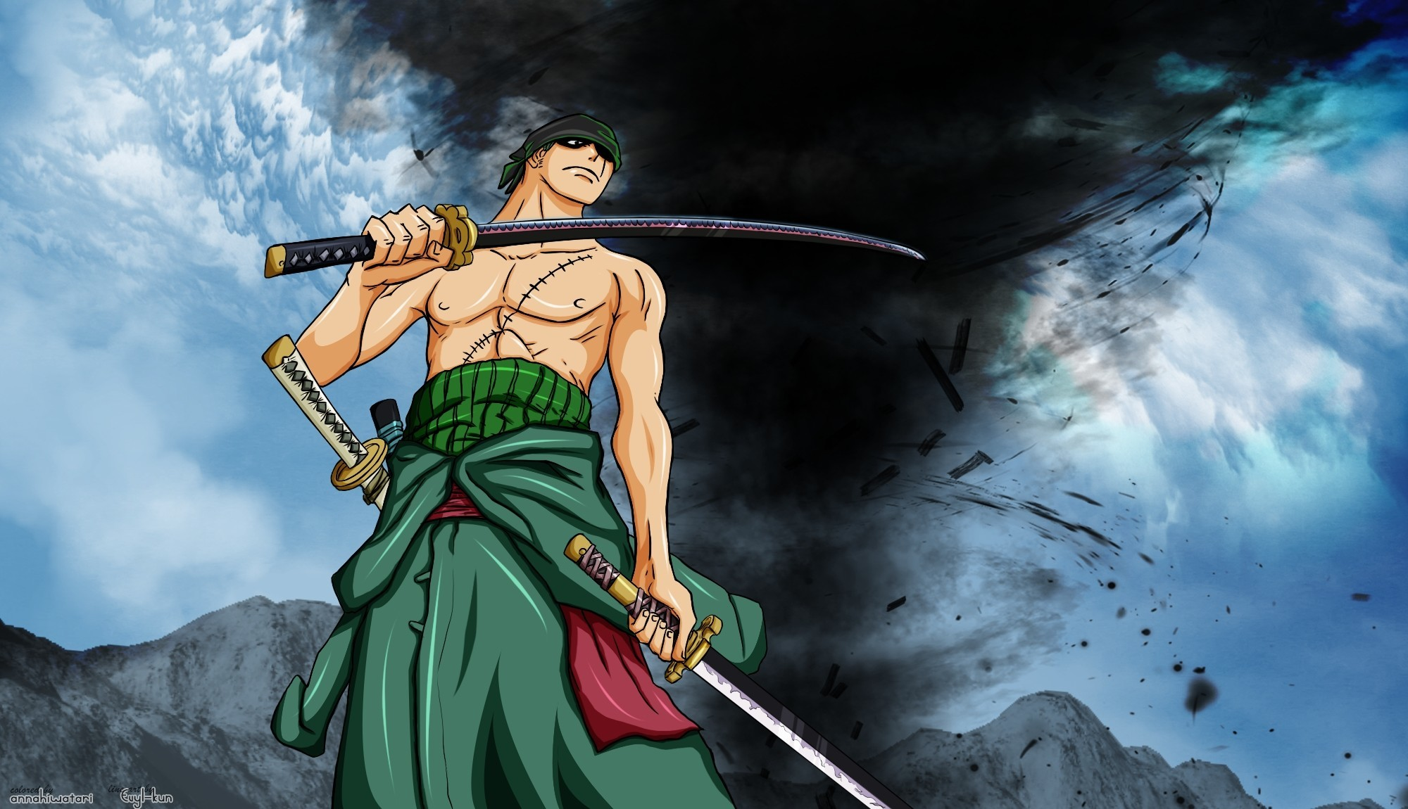 One Piece Zoro Wallpapers 73 Background Pictures