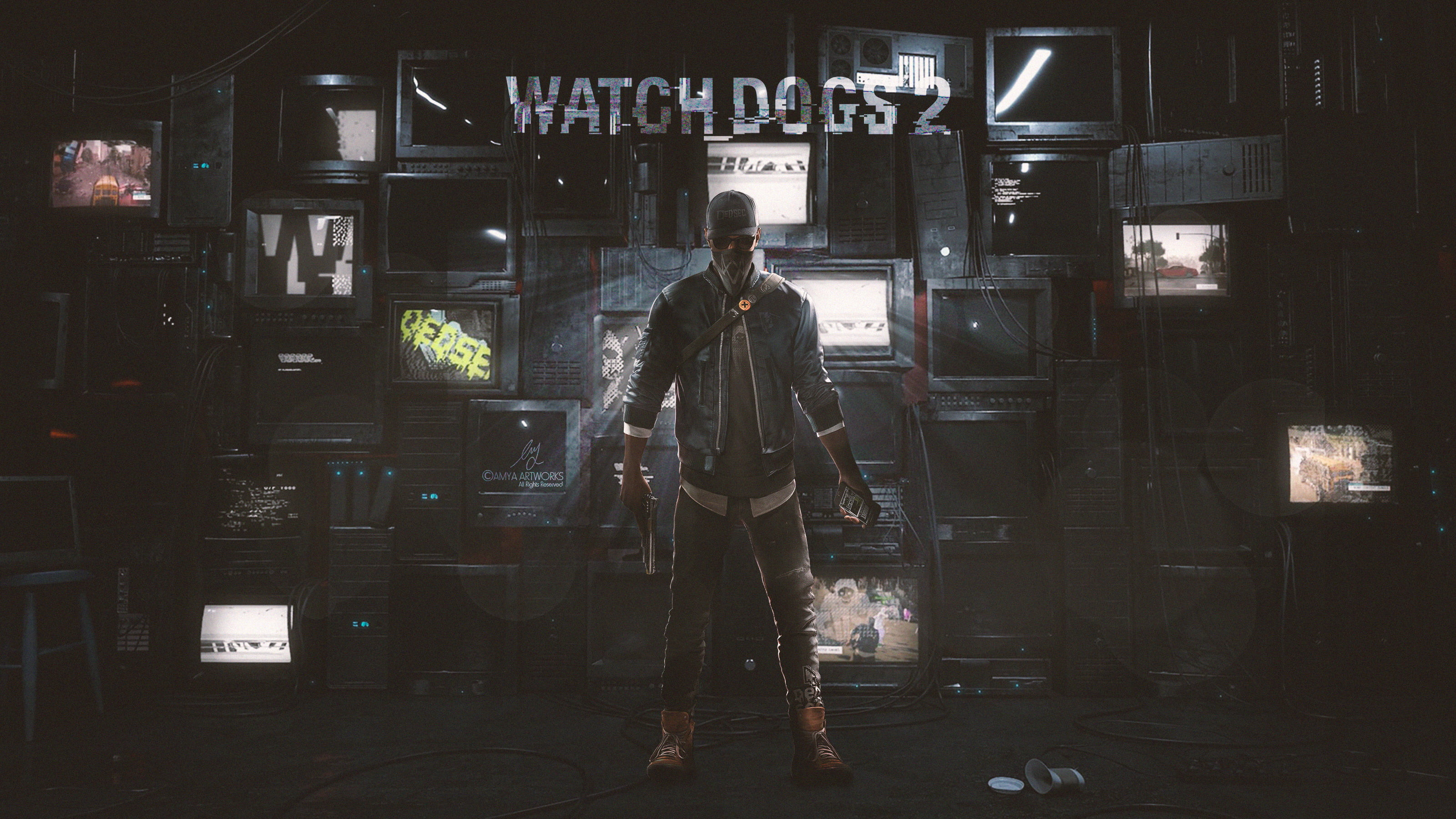 Watch Dogs 2 Wallpapers 79 Background Pictures