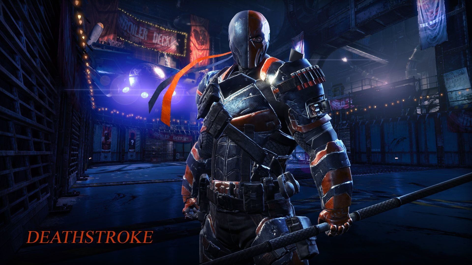 1920x1080 Batman Arkham Origins Deathstroke Wallpaper By DanteArtWallpapers