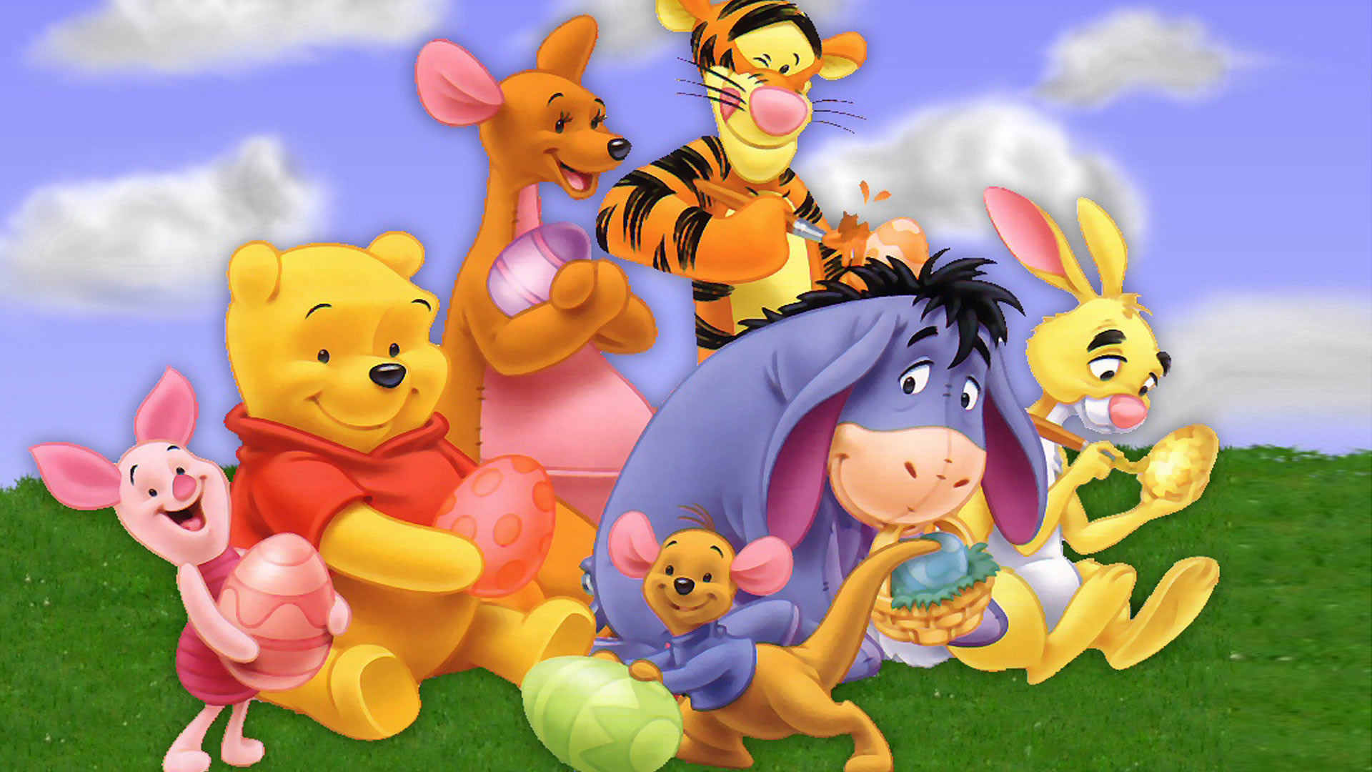 My friends tigger pooh wallpapers 65 background pictures 1920x1080 pooh wallpaper cast hdg altavistaventures Images