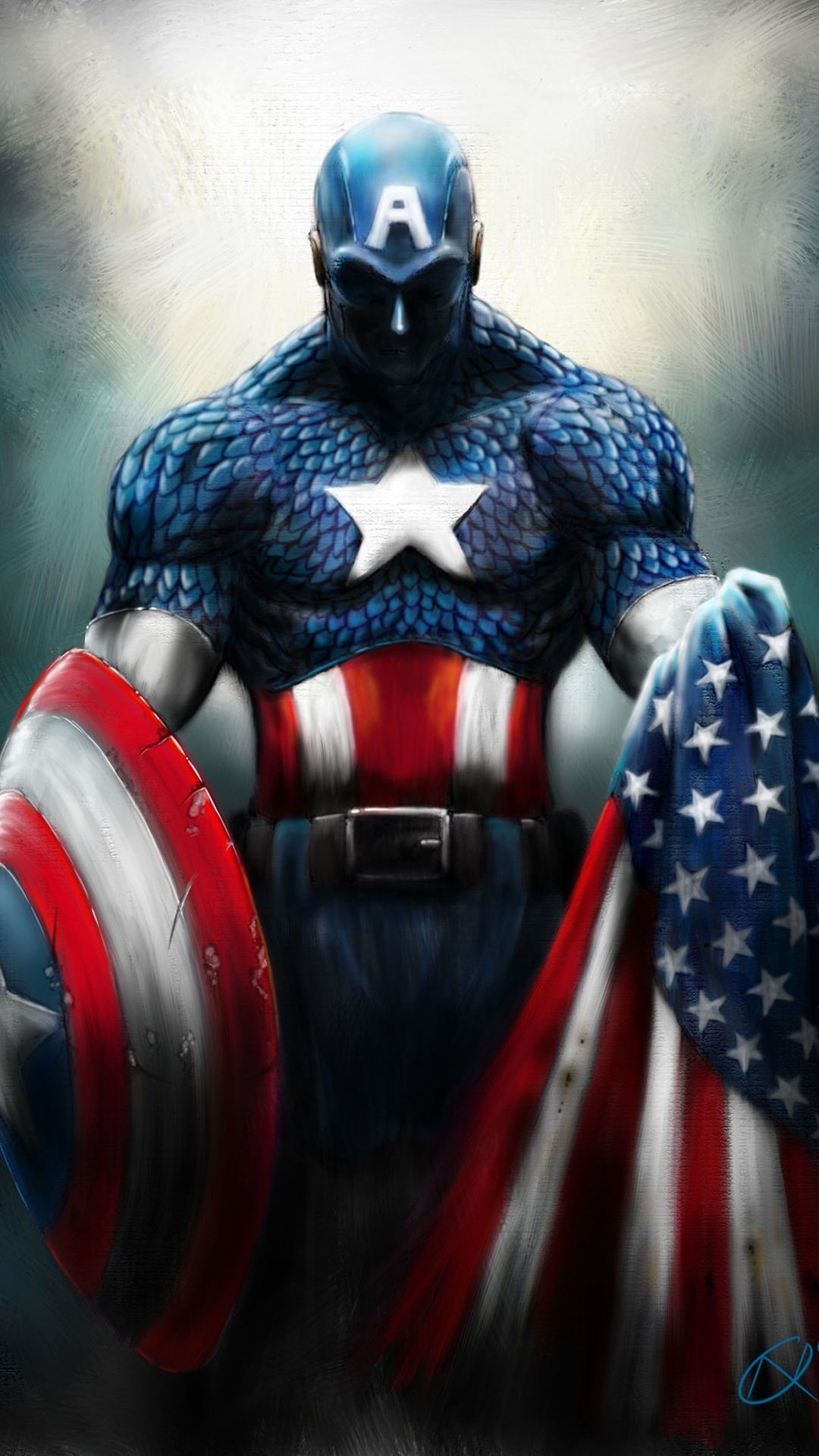 Captain America Logo Wallpapers 80 Background Pictures