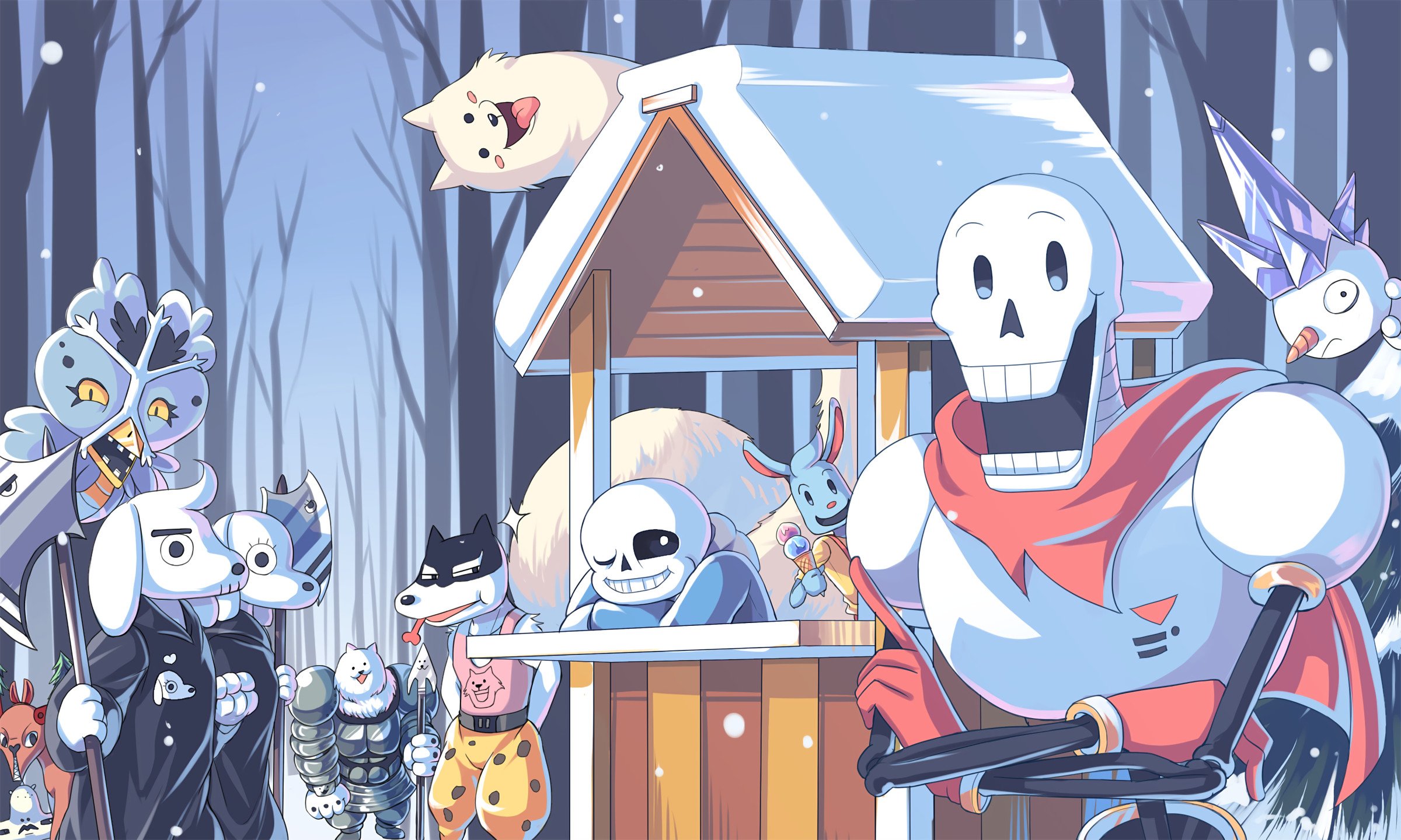 Undertale Papyrus Wallpapers (83+ background pictures)
