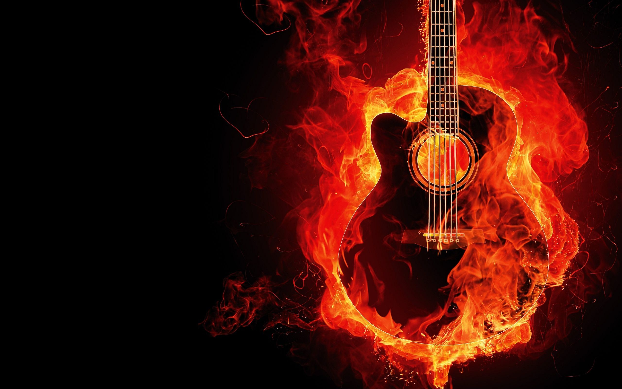 Rock Guitar Wallpapers Hd 66 Background Pictures