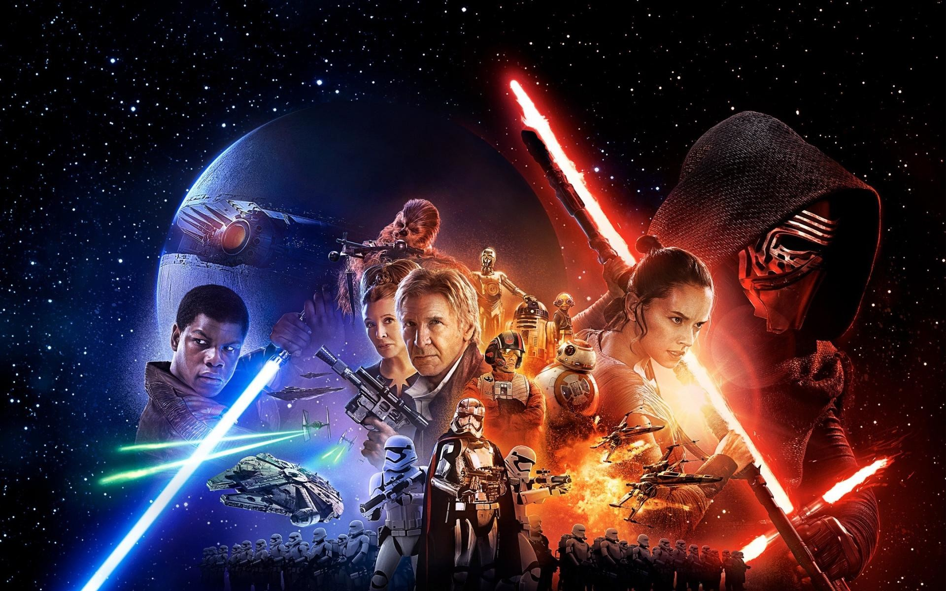 Star Wars The Force Awakens Wallpapers 1920X1080 (80 ...