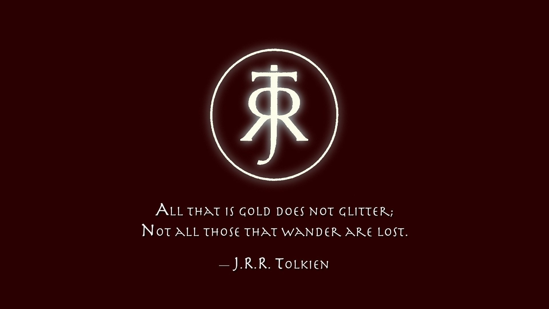 Jrr Tolkien Symbol Wallpapers 63 Background Pictures