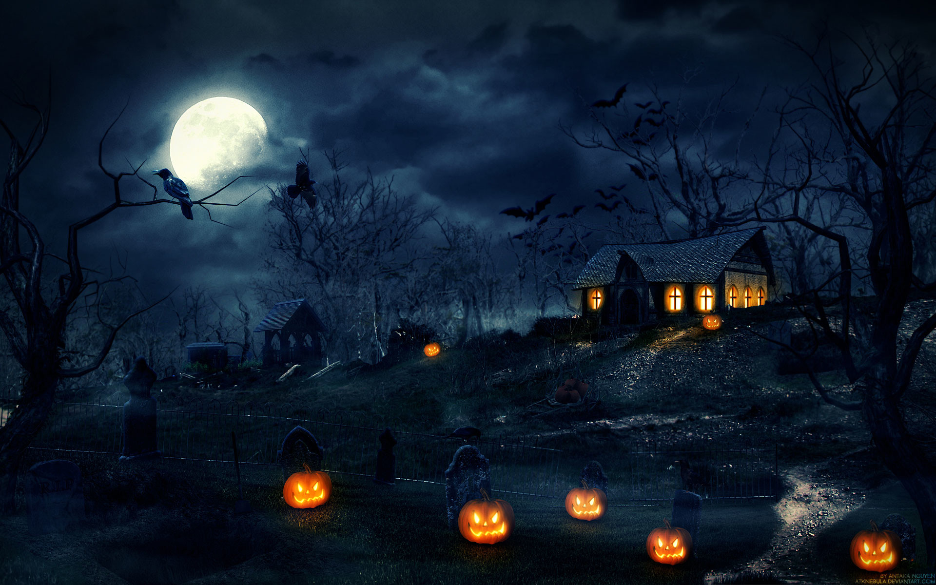Halloween Pumpkin Wallpaper Hd.Halloween Backgrounds Wallpapers 81 Background Pictures
