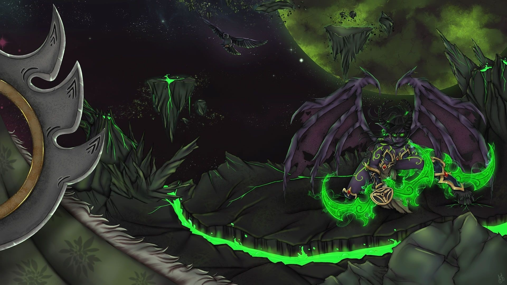 1920x1080 Best of Wow Legion Desktop Wallpaper Animated Free - WoW Legion Animated Background Download link in
