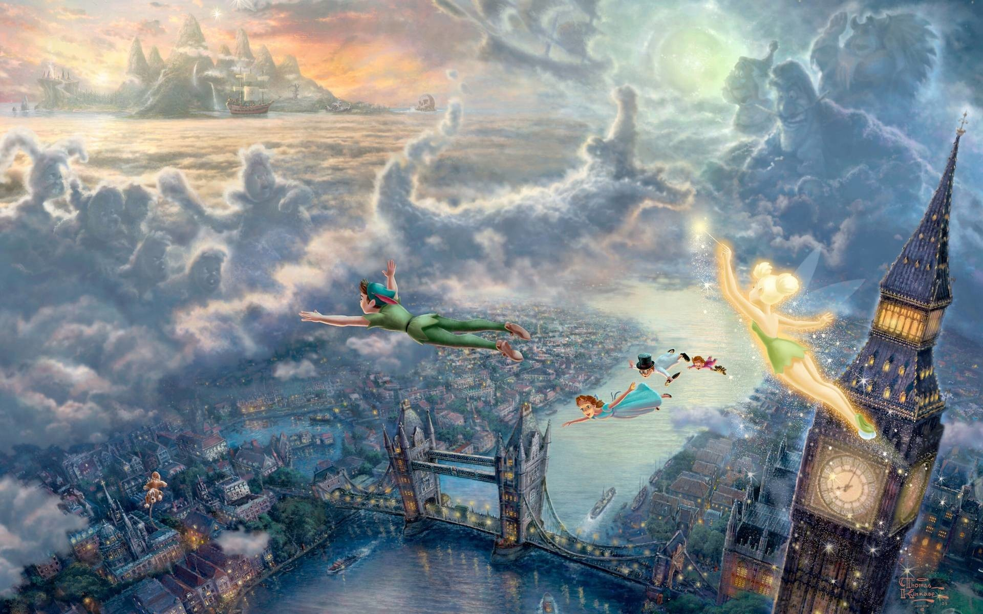 Thomas Kinkade Desktop Wallpapers 79 Background Pictures