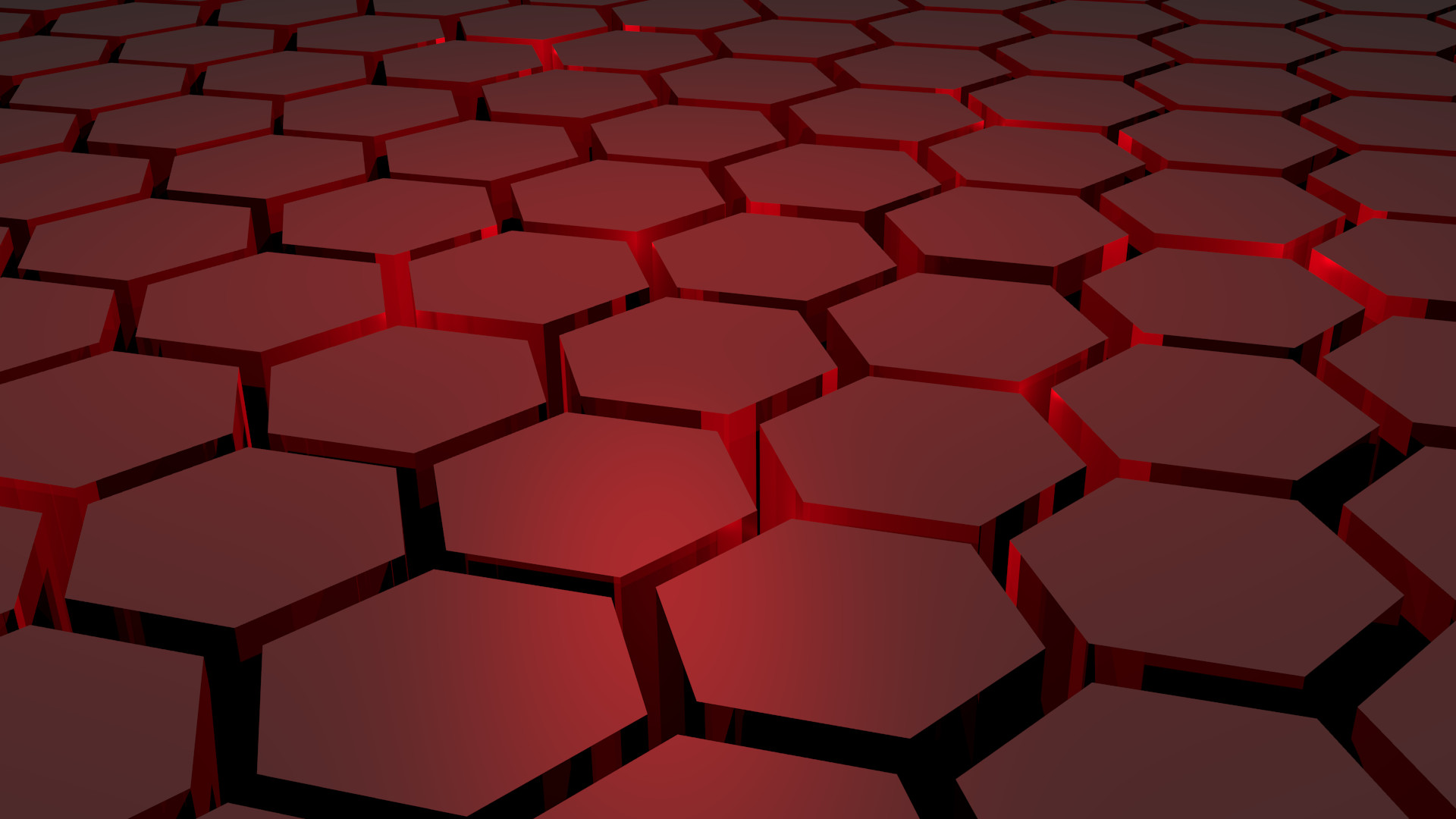 Shattered Hex Wallpaper Full HD By Artyom17