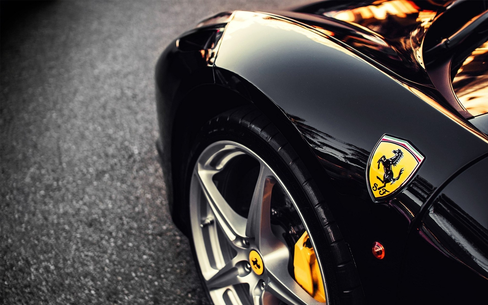 Black Ferrari Wallpapers 69 Background Pictures