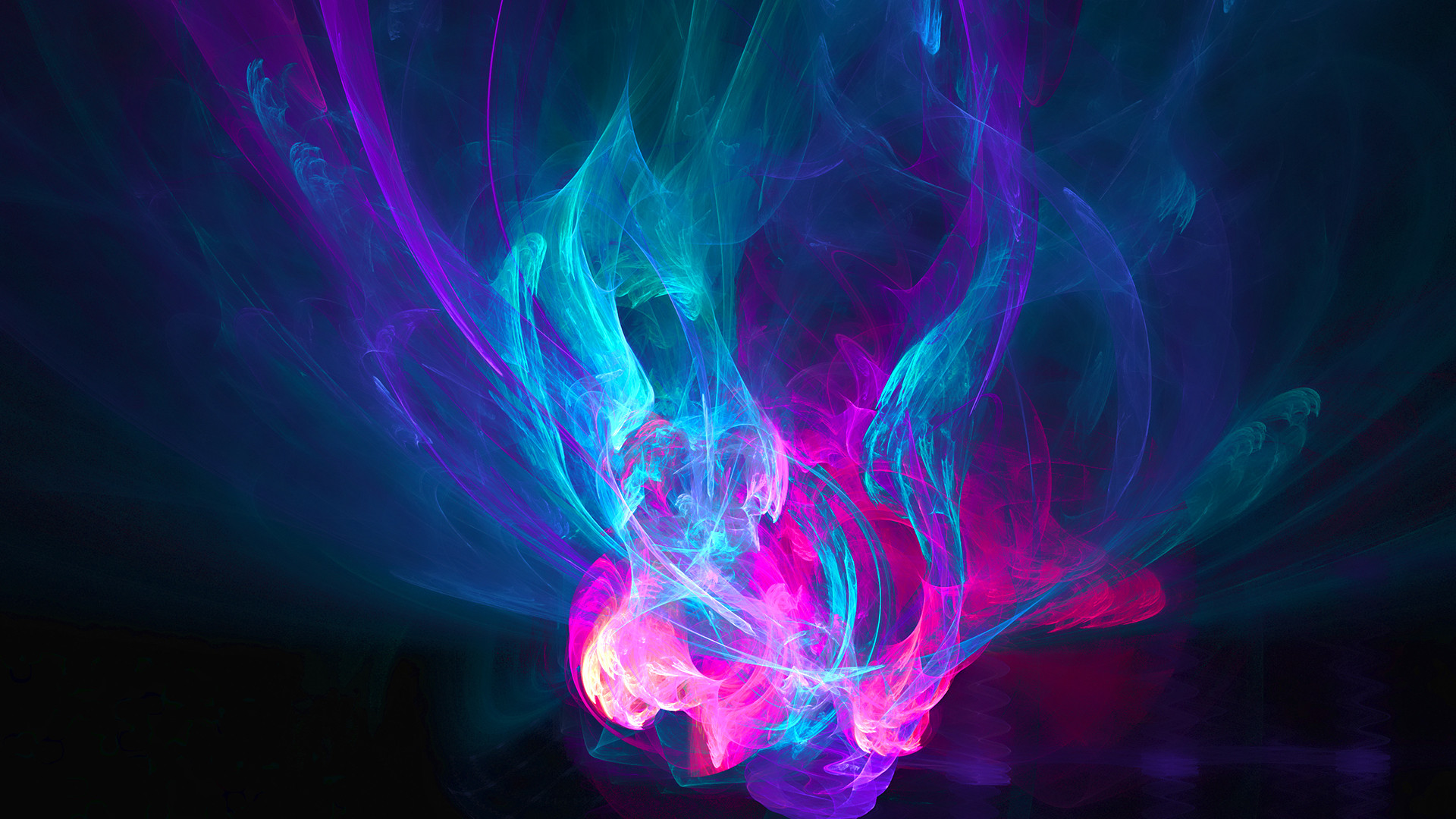 1920x1080 Cool Abstract Purple Fire Wallpapers HD