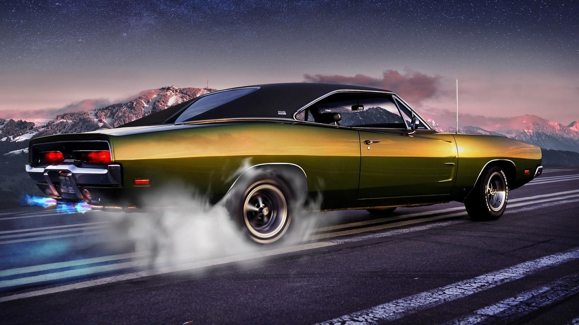 Old Muscle Cars HD Wallpapers (71+ background pictures)