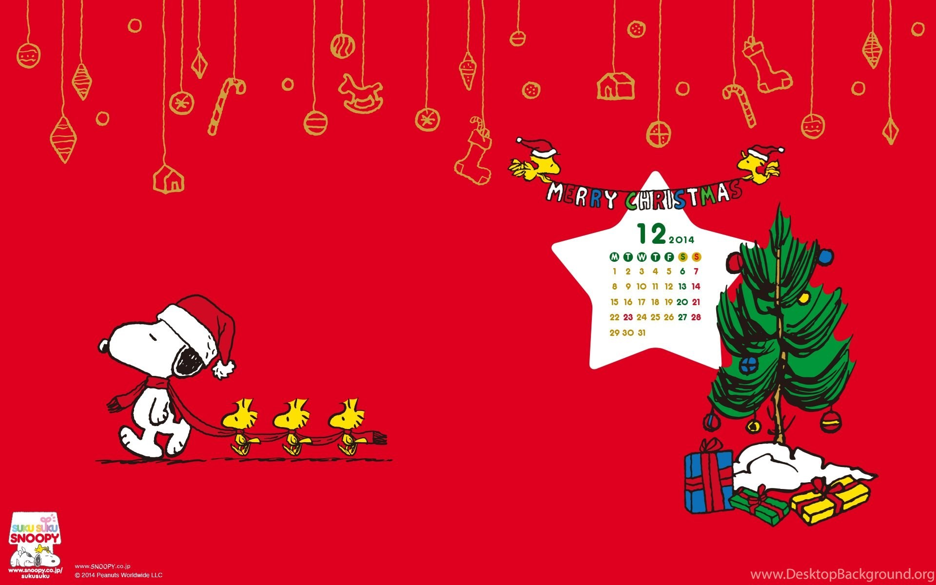 Snoopy Christmas Wallpapers (61+ background pictures)