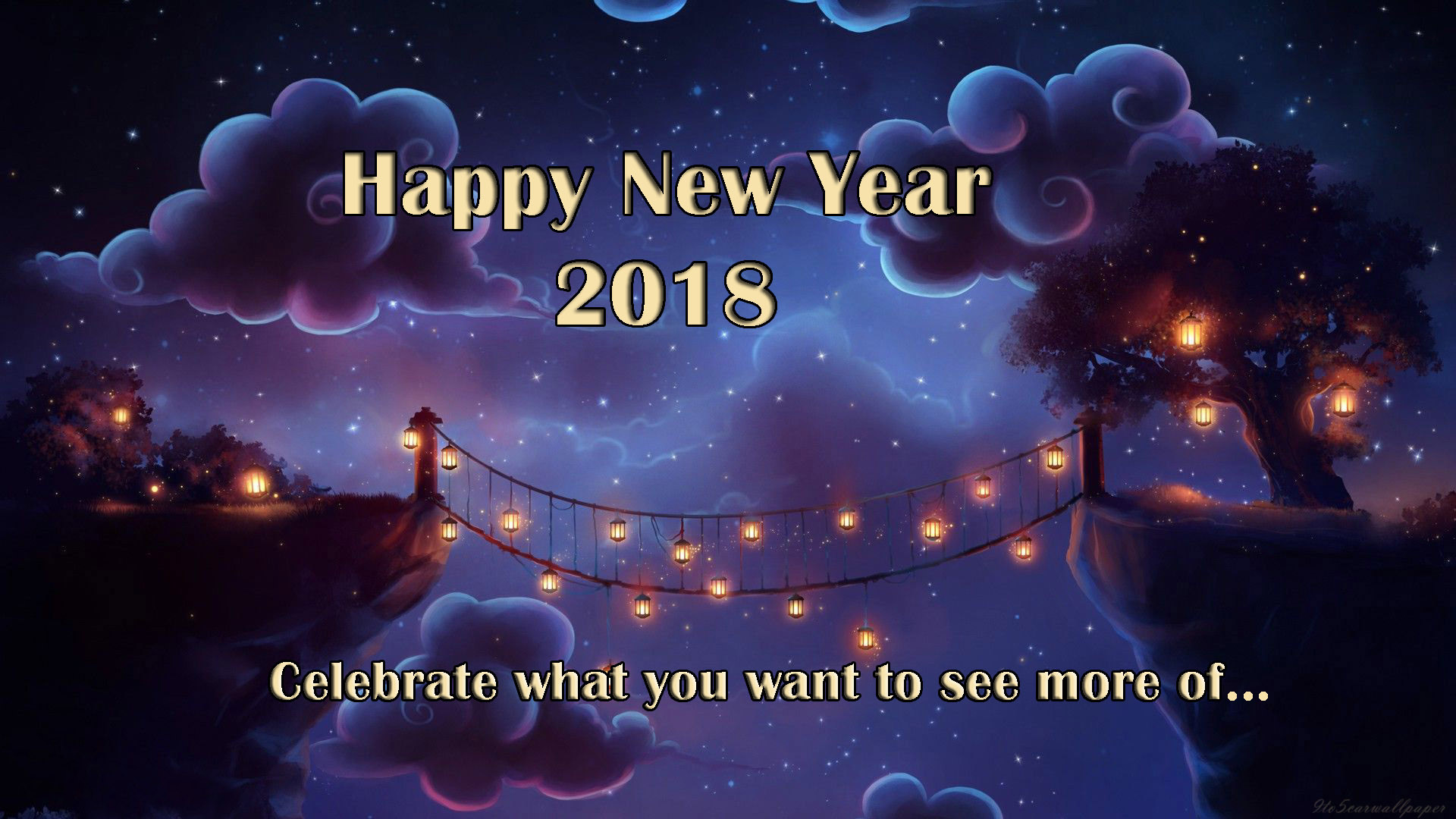 New Year Greetings Wallpapers 2018 (76+ background pictures)