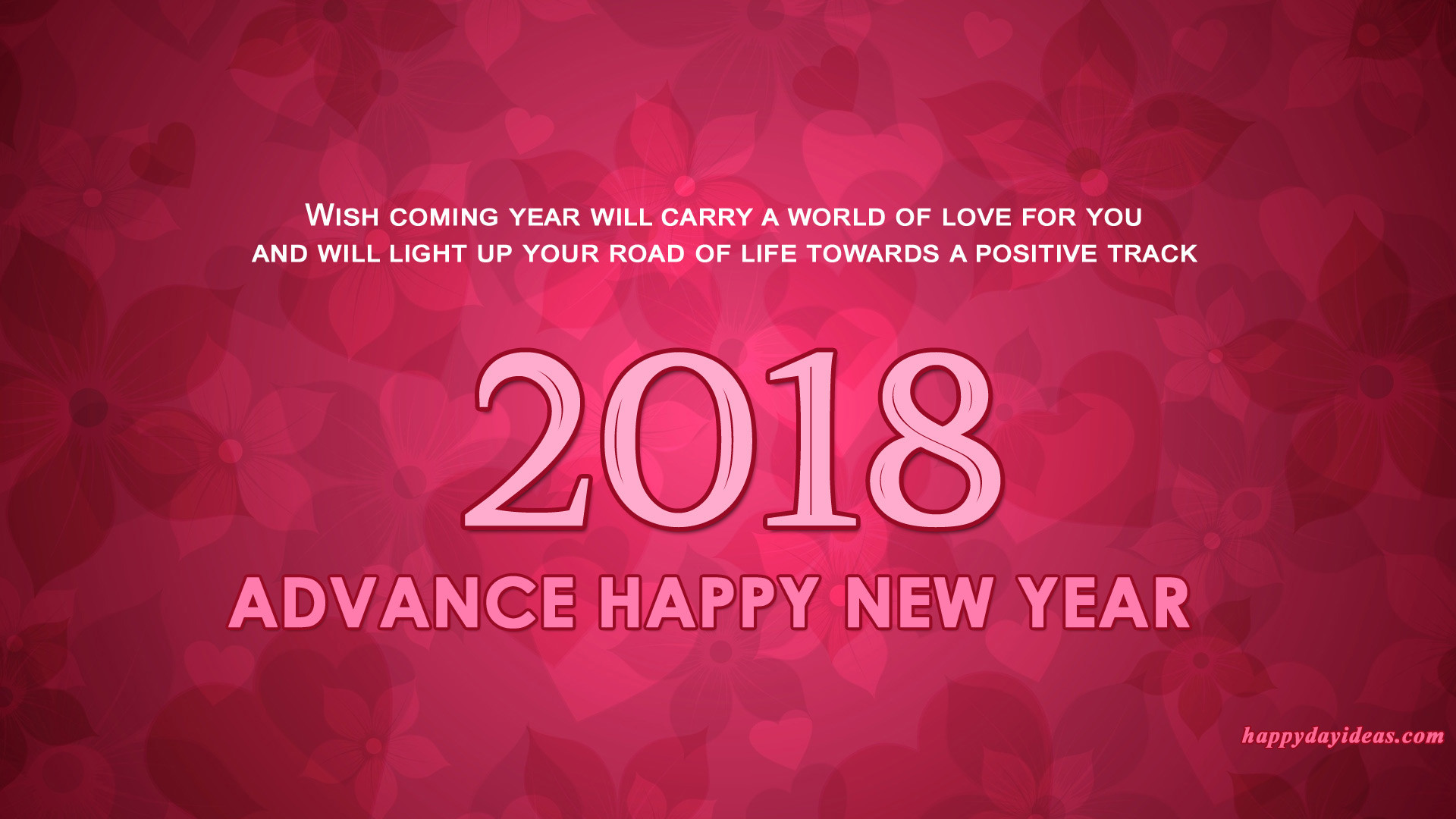 1920x1080 happy new year 2018 in advance wallpaper advance 2018 wallpaper