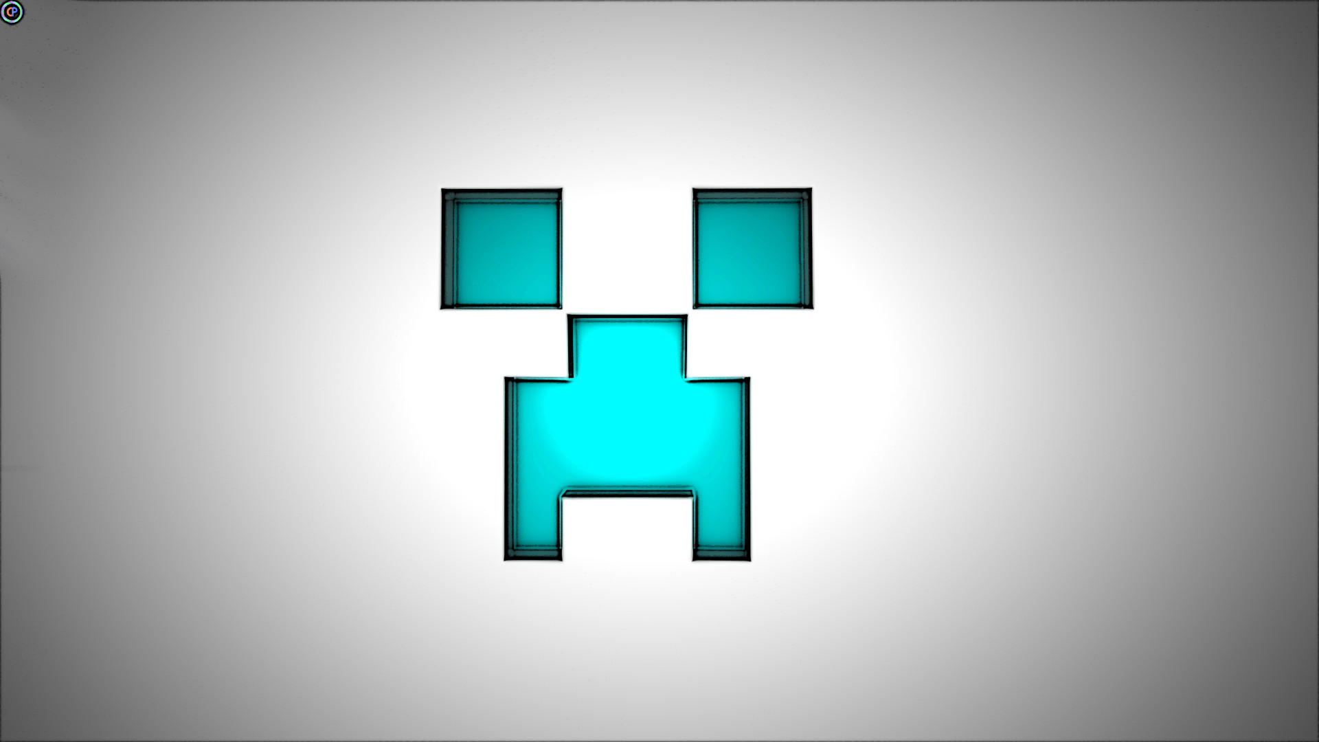 1920x1200 Minecraft Creeper Face Wallpaper 3D