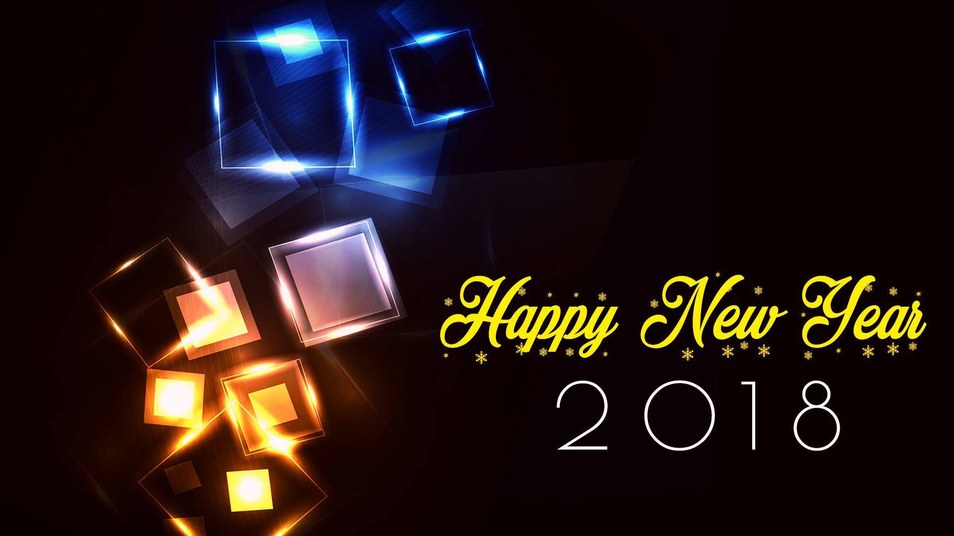 2560x1600 happy new year 2018 wallpaper