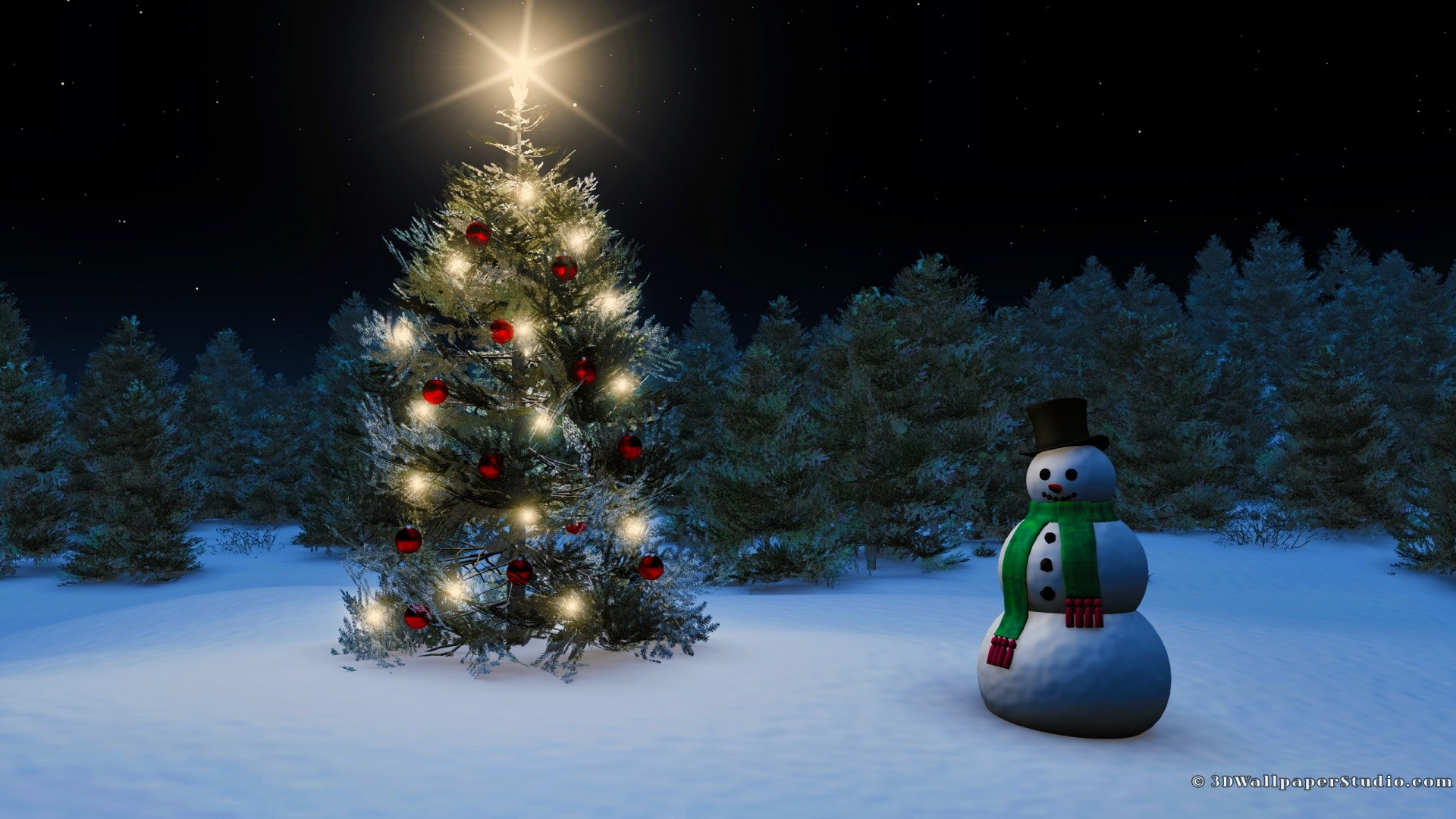 Christmas Wallpapers 3d 65 Background Pictures