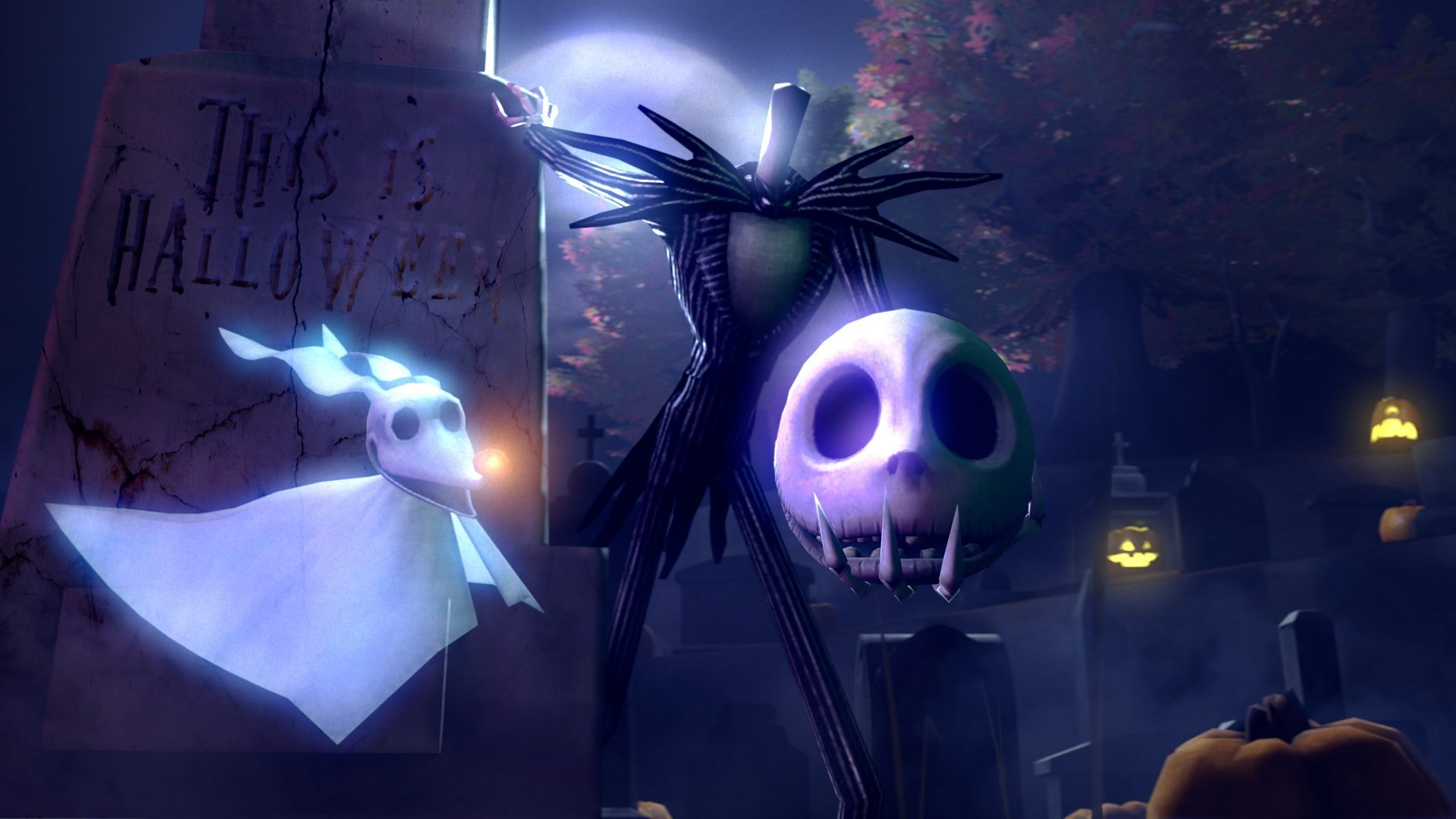 Nightmare Before Christmas Wallpapers Hd 72 Background Pictures