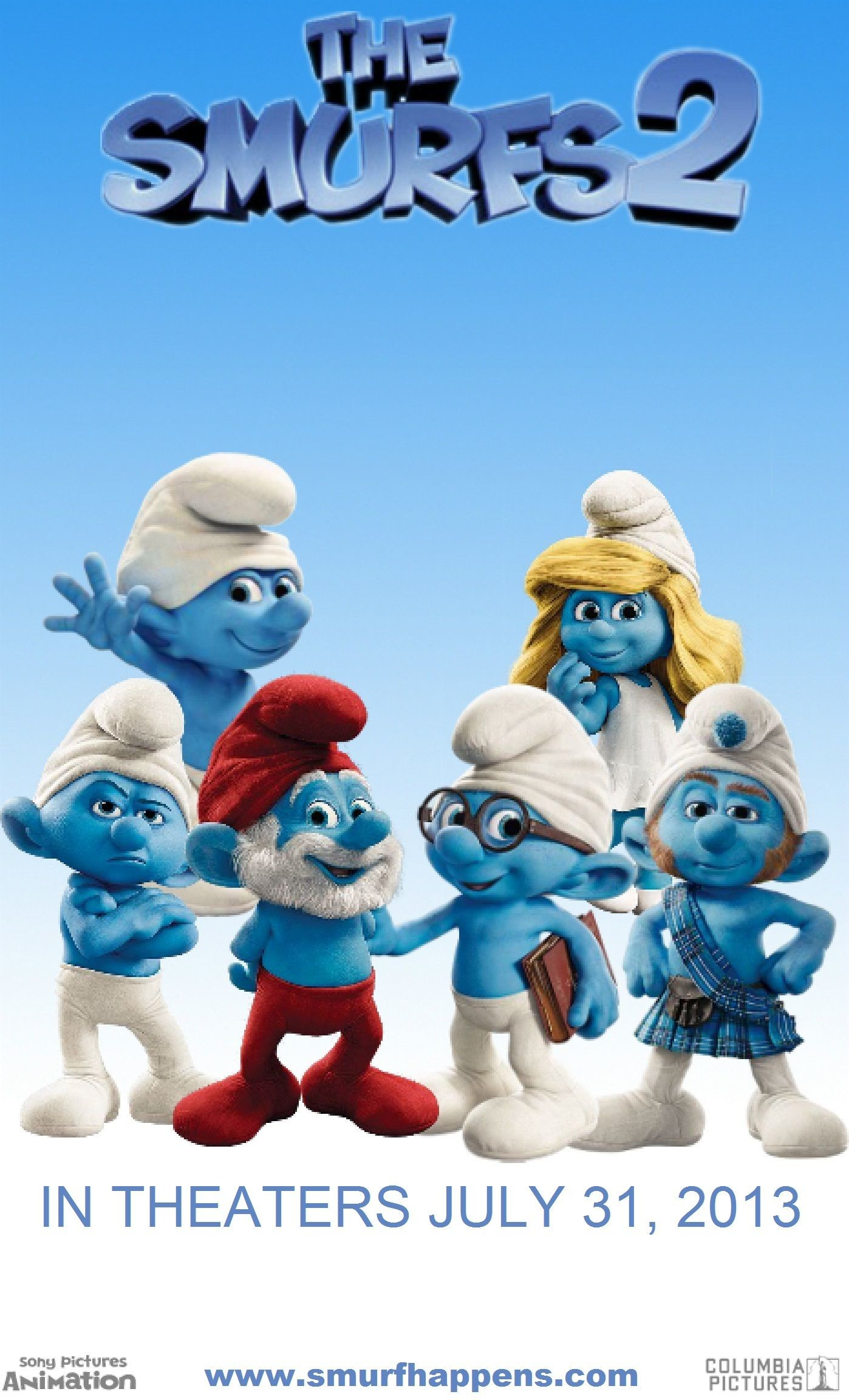 The Smurfs Wallpapers 64 Background Pictures