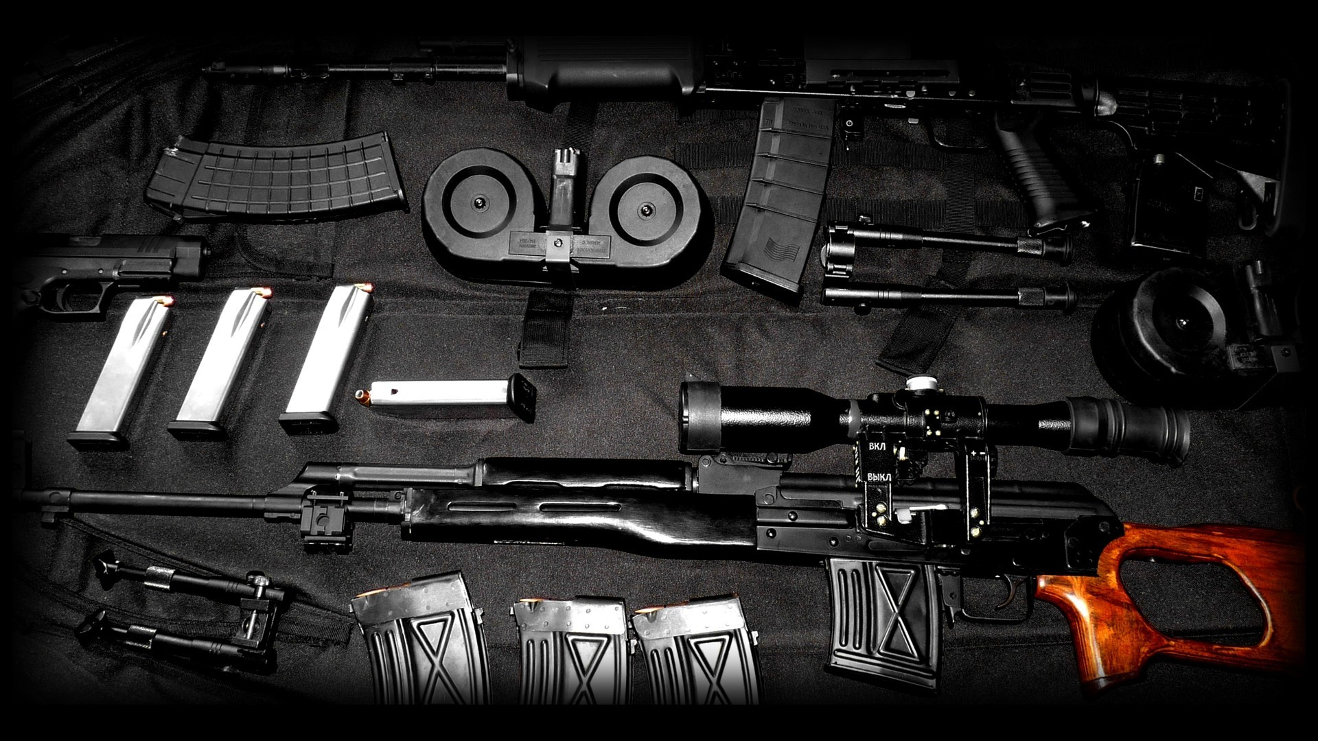 1920x1200 Upgrade Of AK47 HD Wallpaper