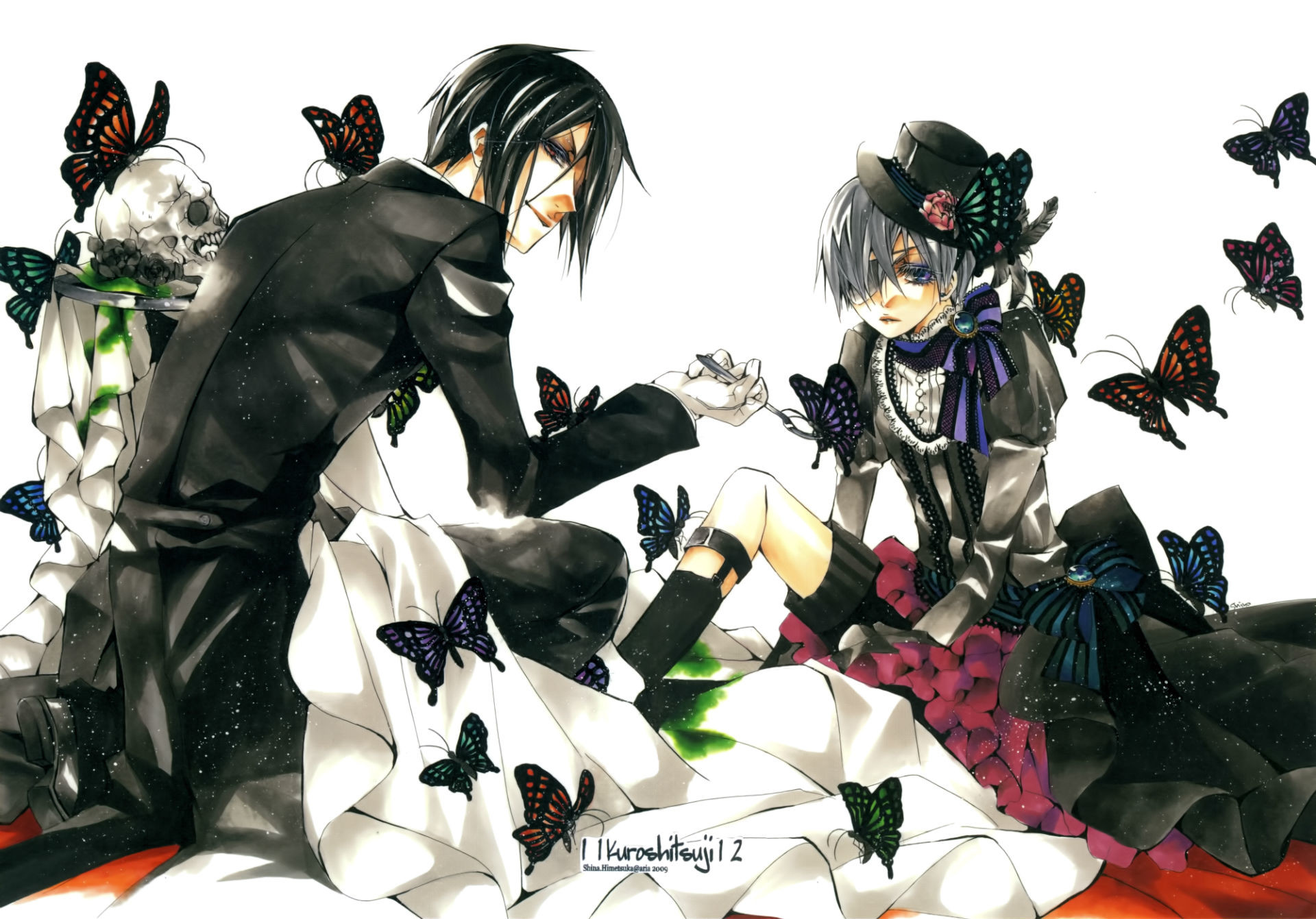 1920x1341 Black Butler wallpapers for iphone
