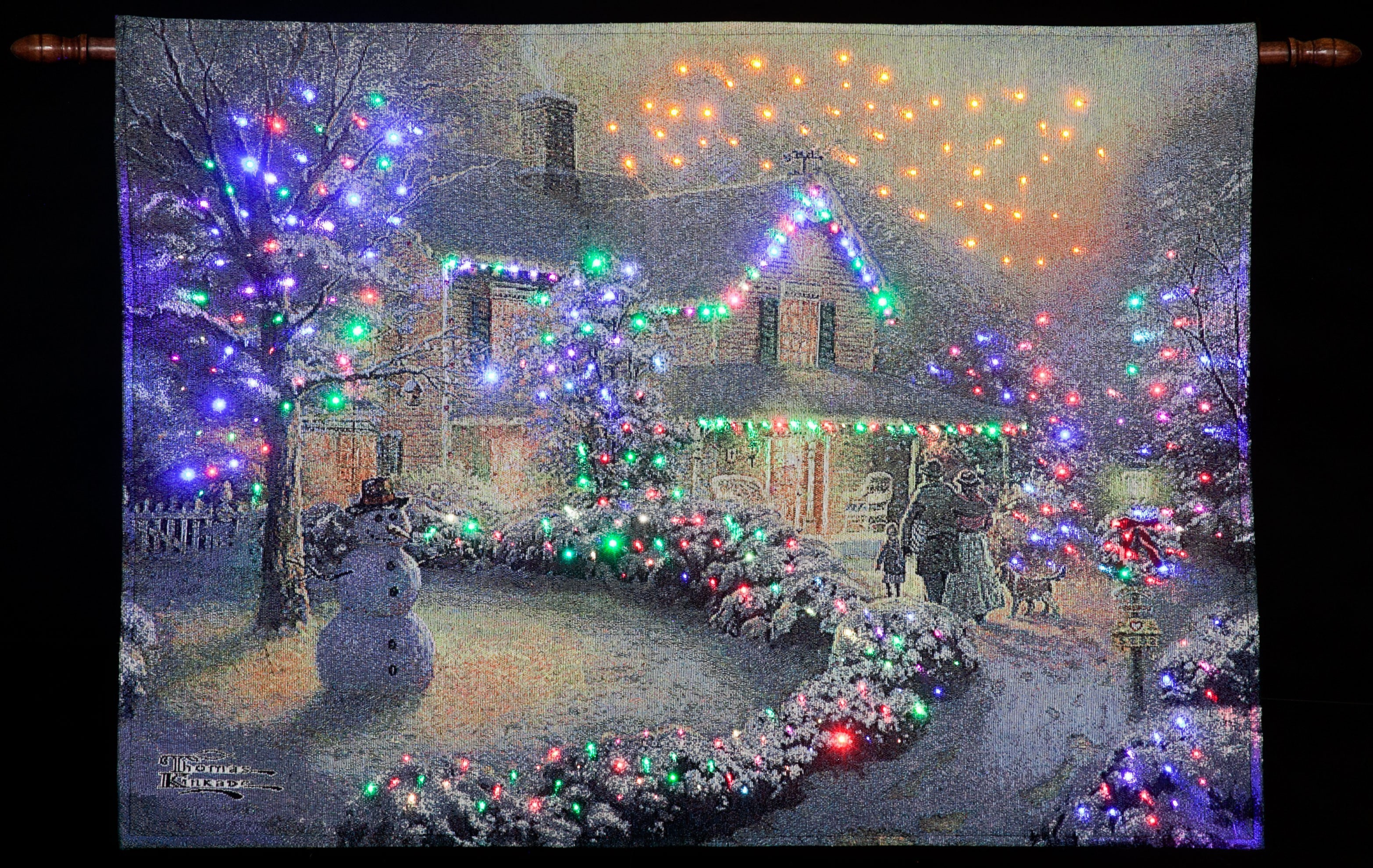 Thomas Kinkade Christmas Wallpapers (77+ background pictures)