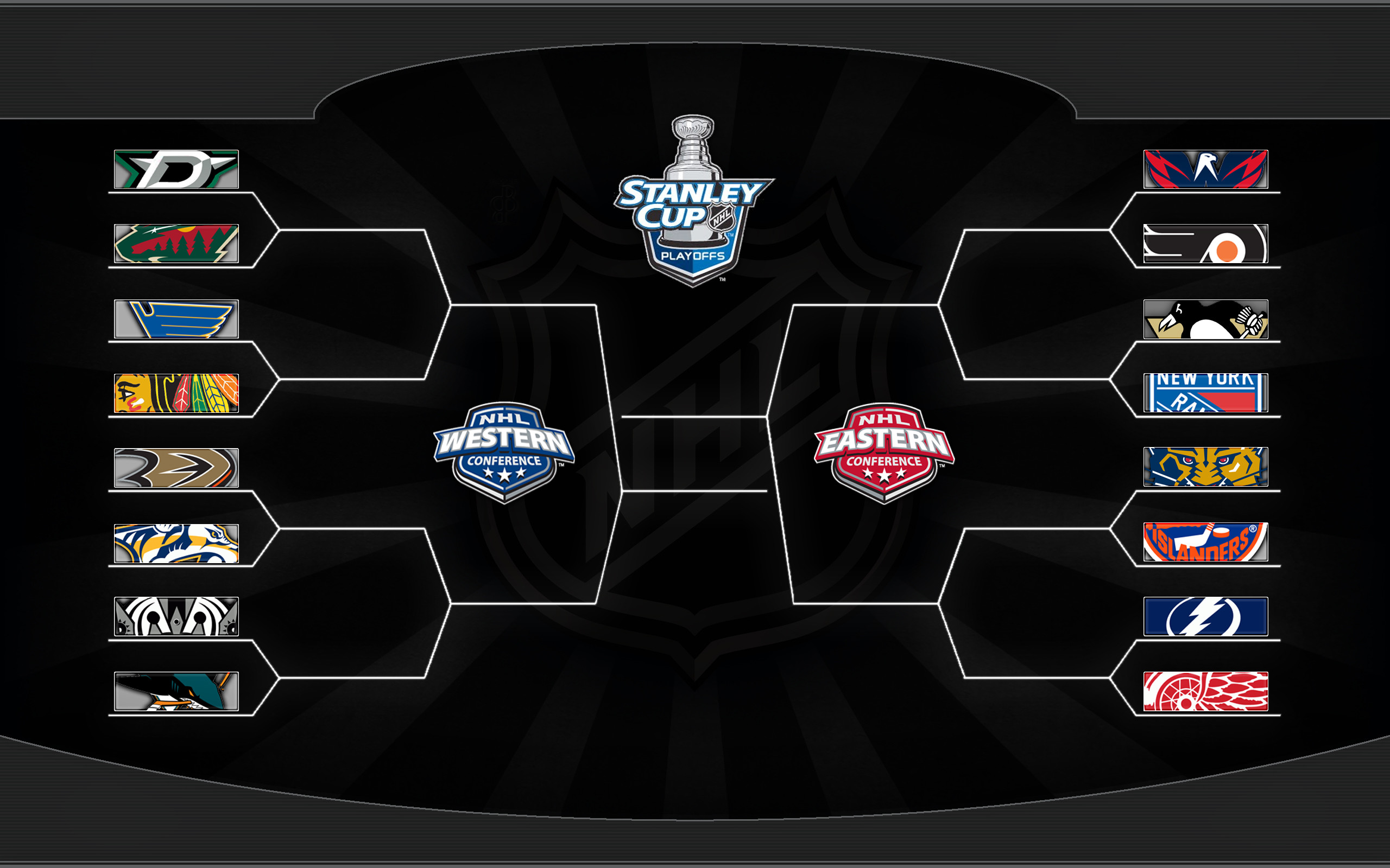 It is a photo of Exhilarating Printable Nhl Playoff Bracket
