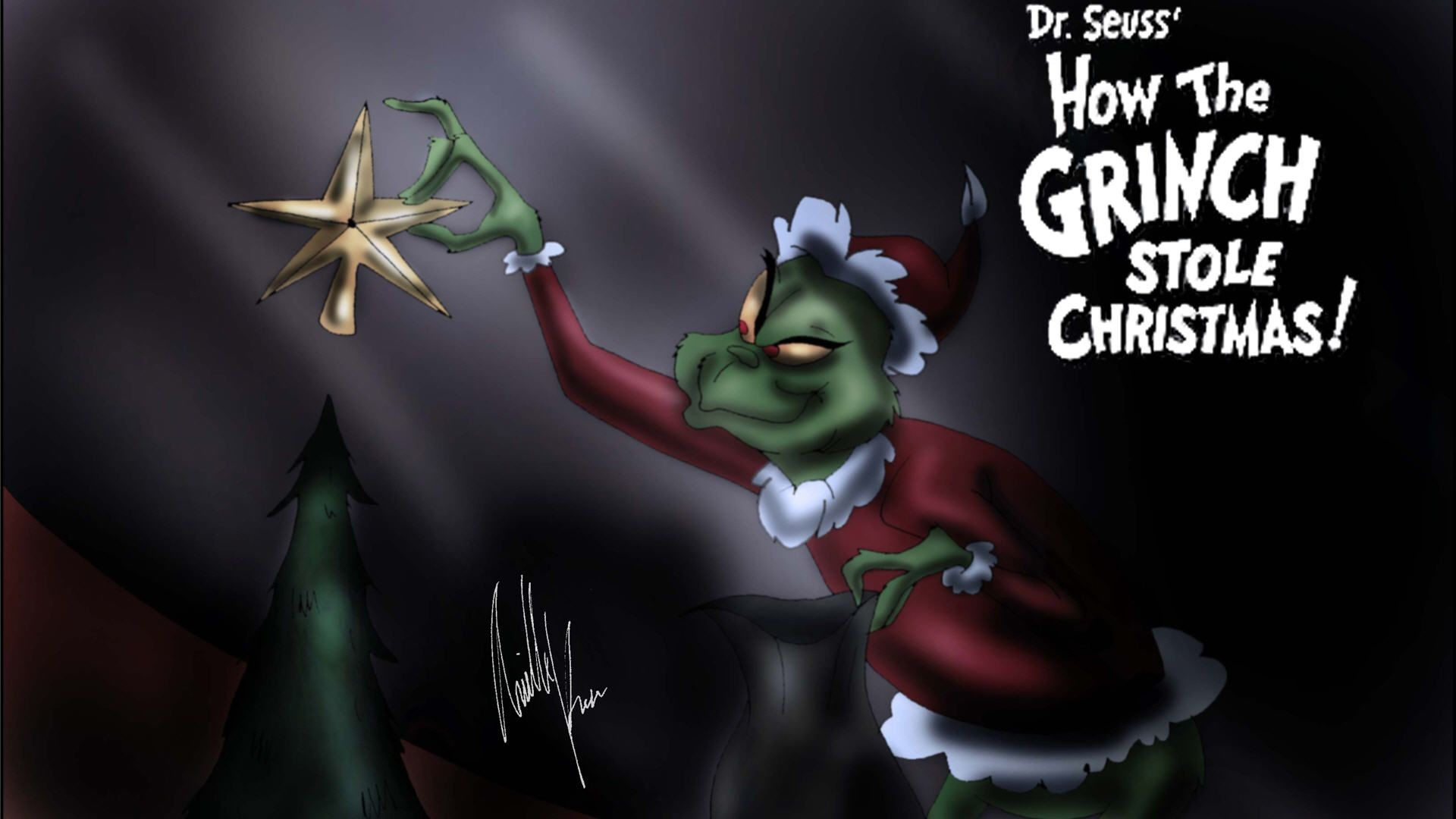 Christmas Zombie Wallpaper.Grinch Desktop Wallpapers 70 Background Pictures