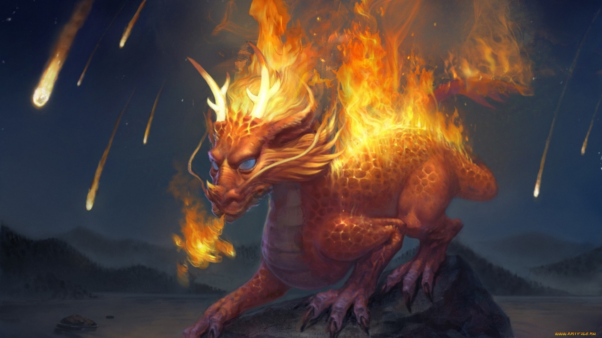 2880x1800 Wallpapers For Awesome Fire Dragon