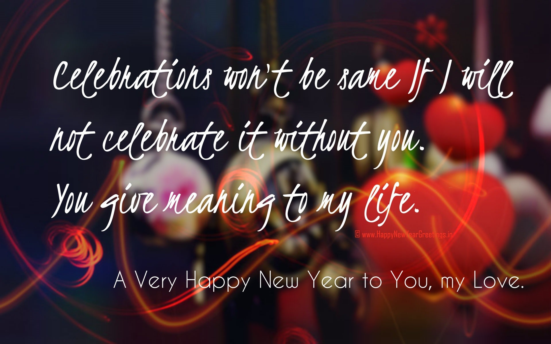 Happy New Year Love Wallpapers 2018 (69+ background pictures)