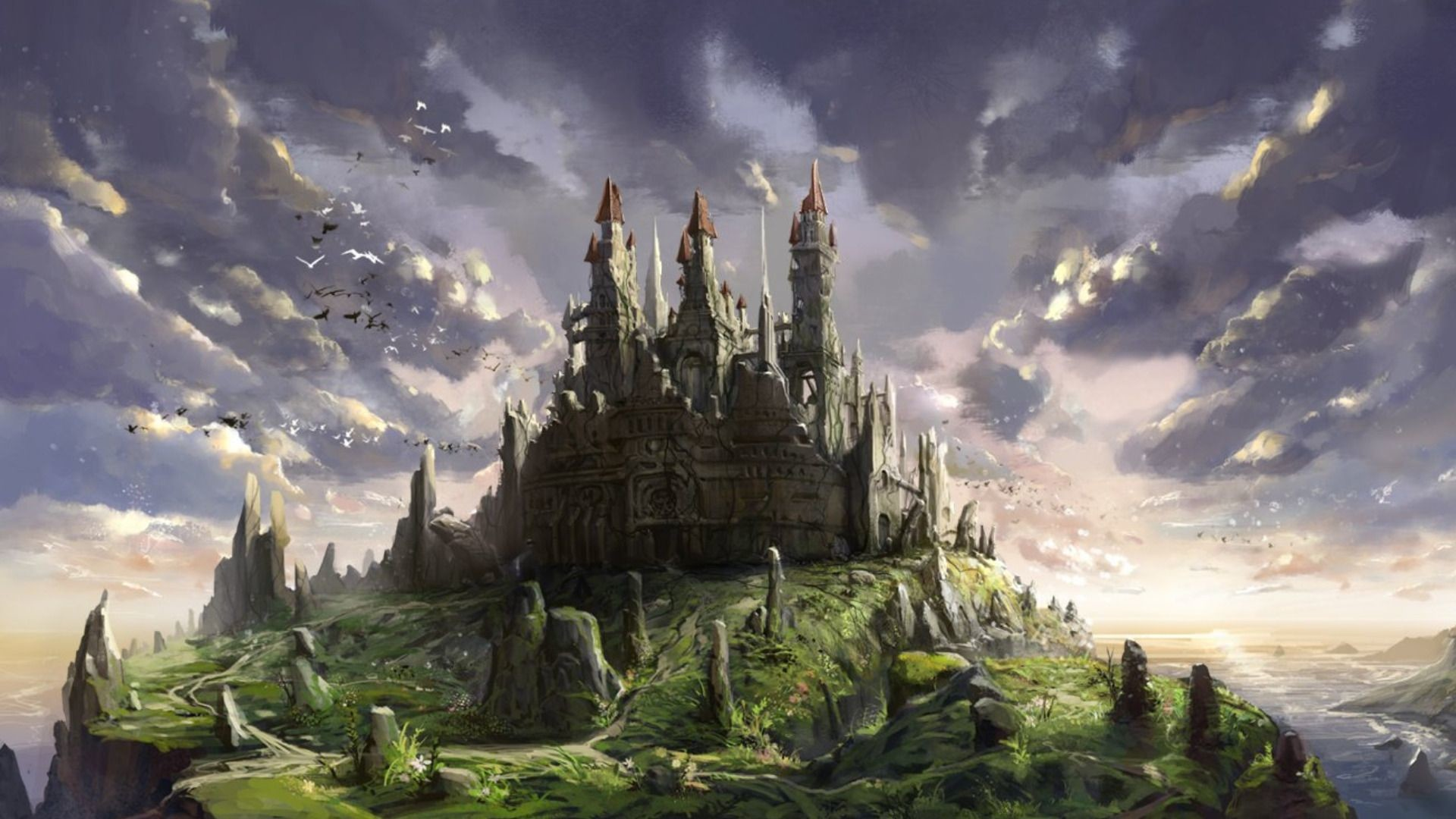 Fantasy Castle Wallpapers 80 Background Pictures