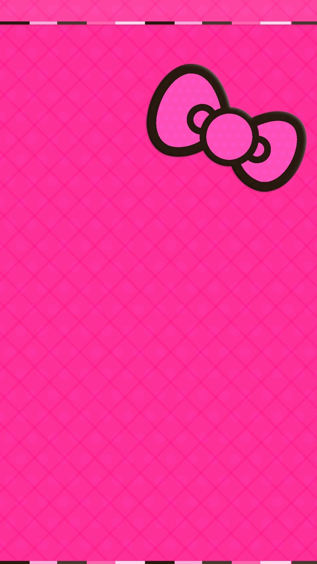 Hello Kitty Black And Pink Wallpapers 67 Background Pictures