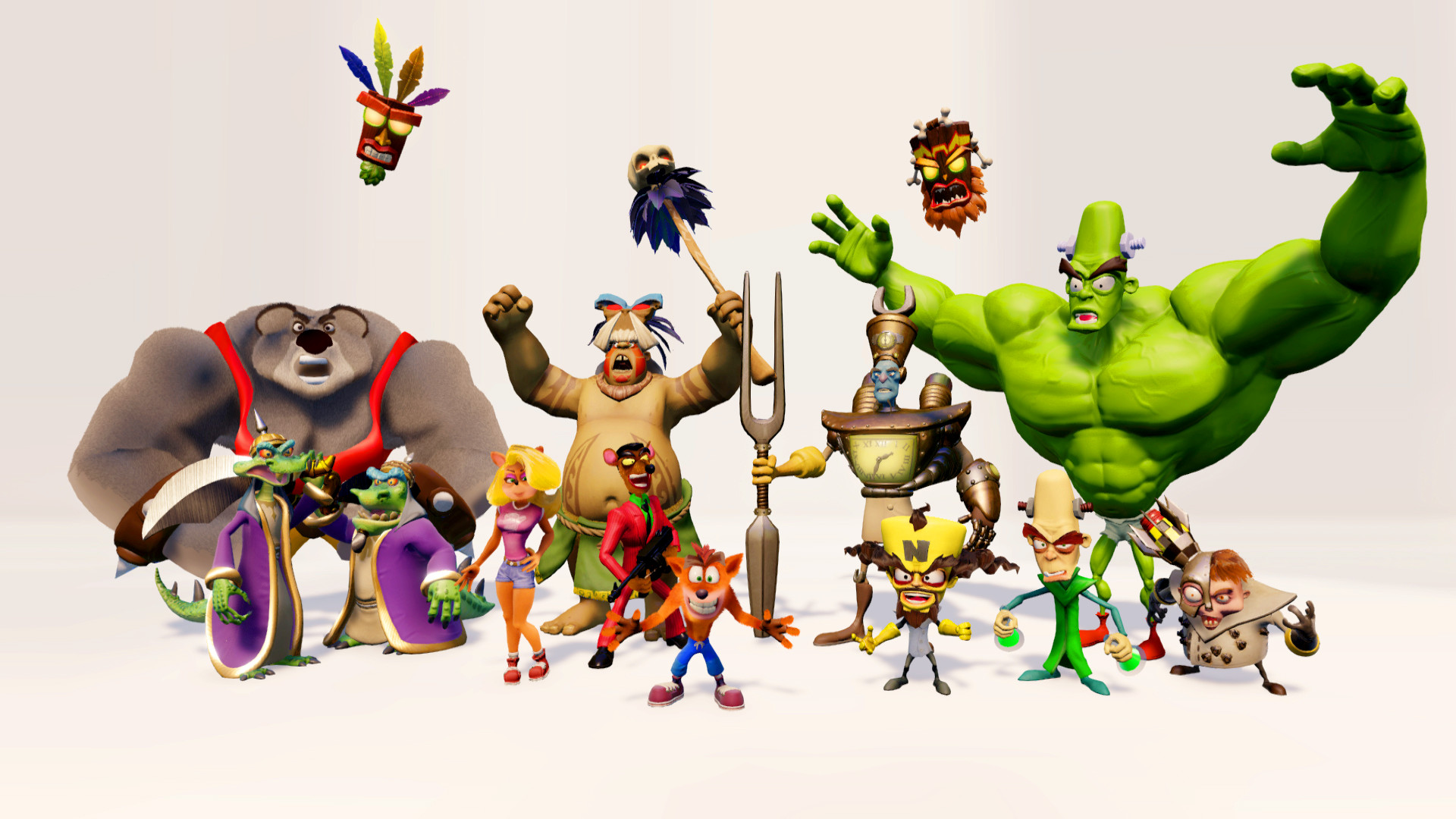 Crash Bandicoot Wallpapers 73 Background Pictures
