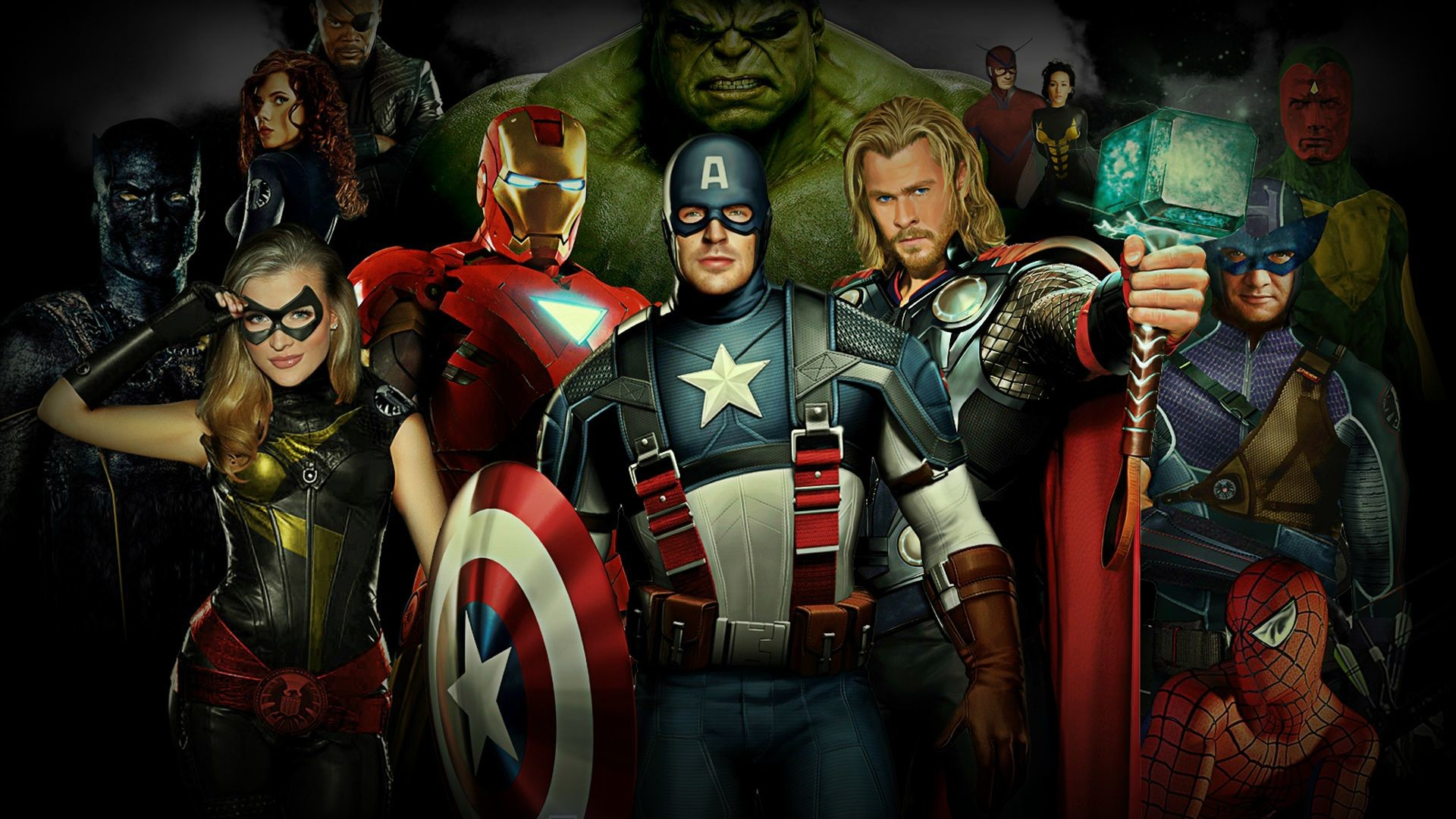 Marvel Hero Wallpapers (73+ background pictures)