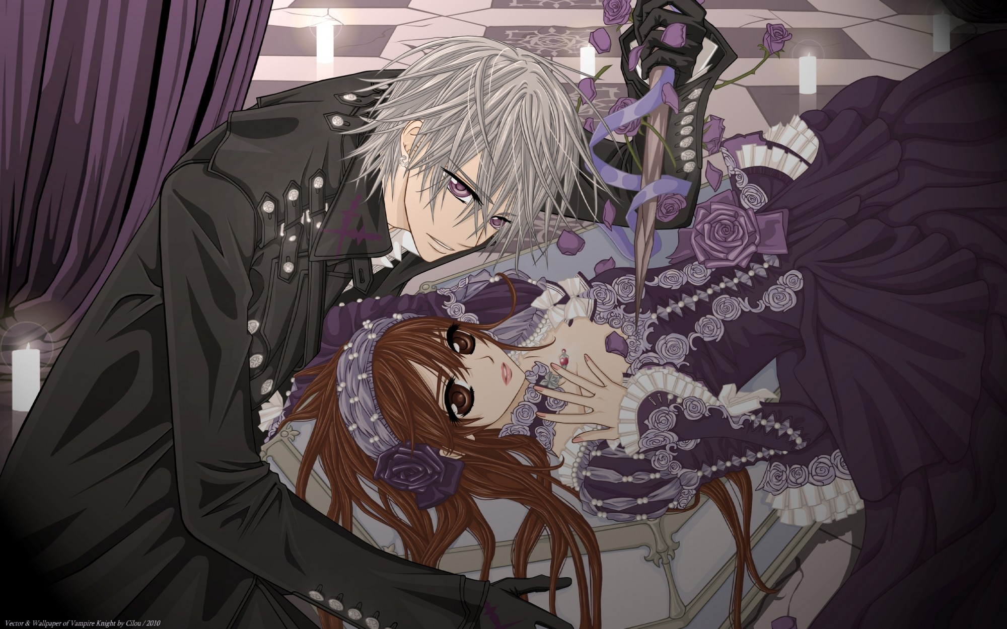 Anime Vampire Wallpapers 62 Background Pictures