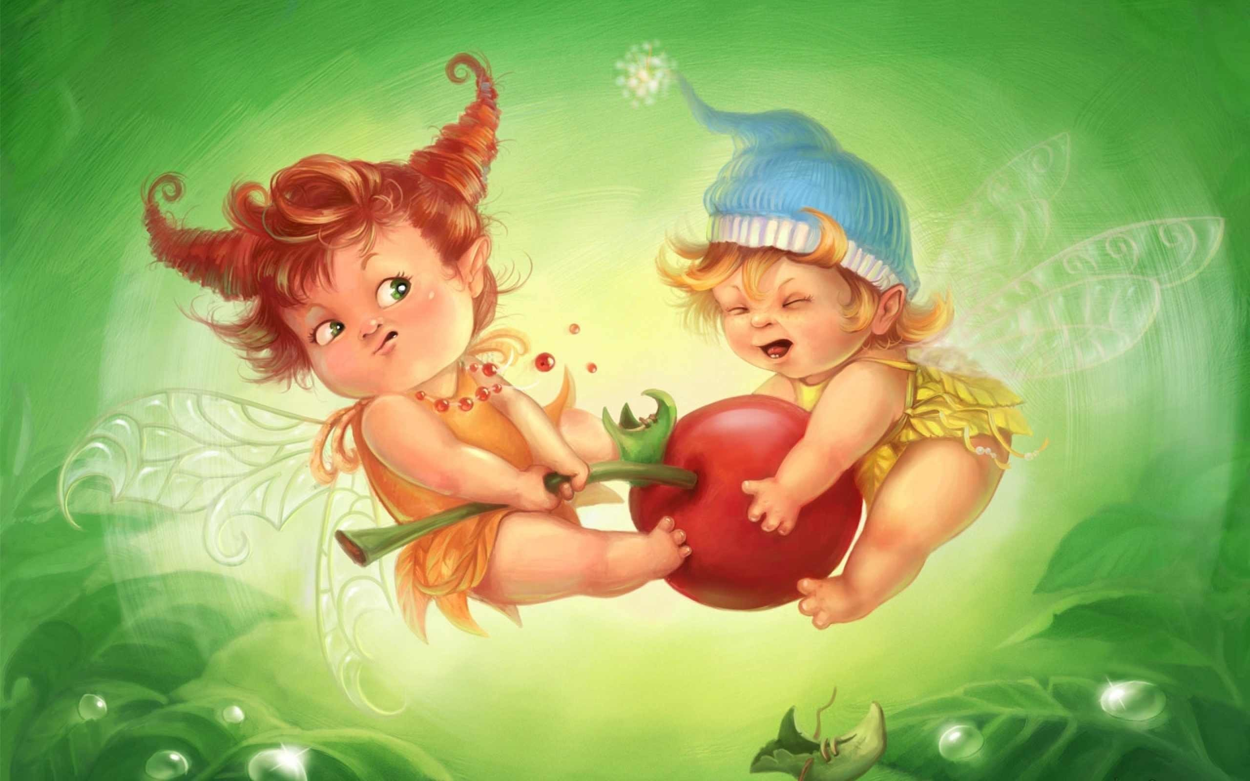 1920x1200 Beautiful Spring Fairies Wallpaper Backgrounds Free Te Fairy Background